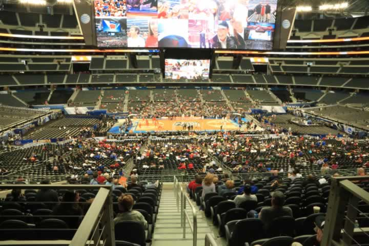 Basketball Seat View for AT&T Stadium Section C235
