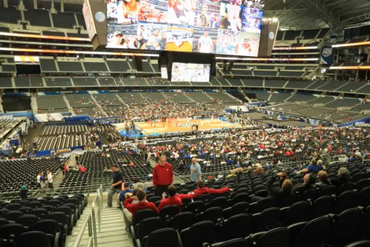 Basketball Seat View for AT&T Stadium Section C237