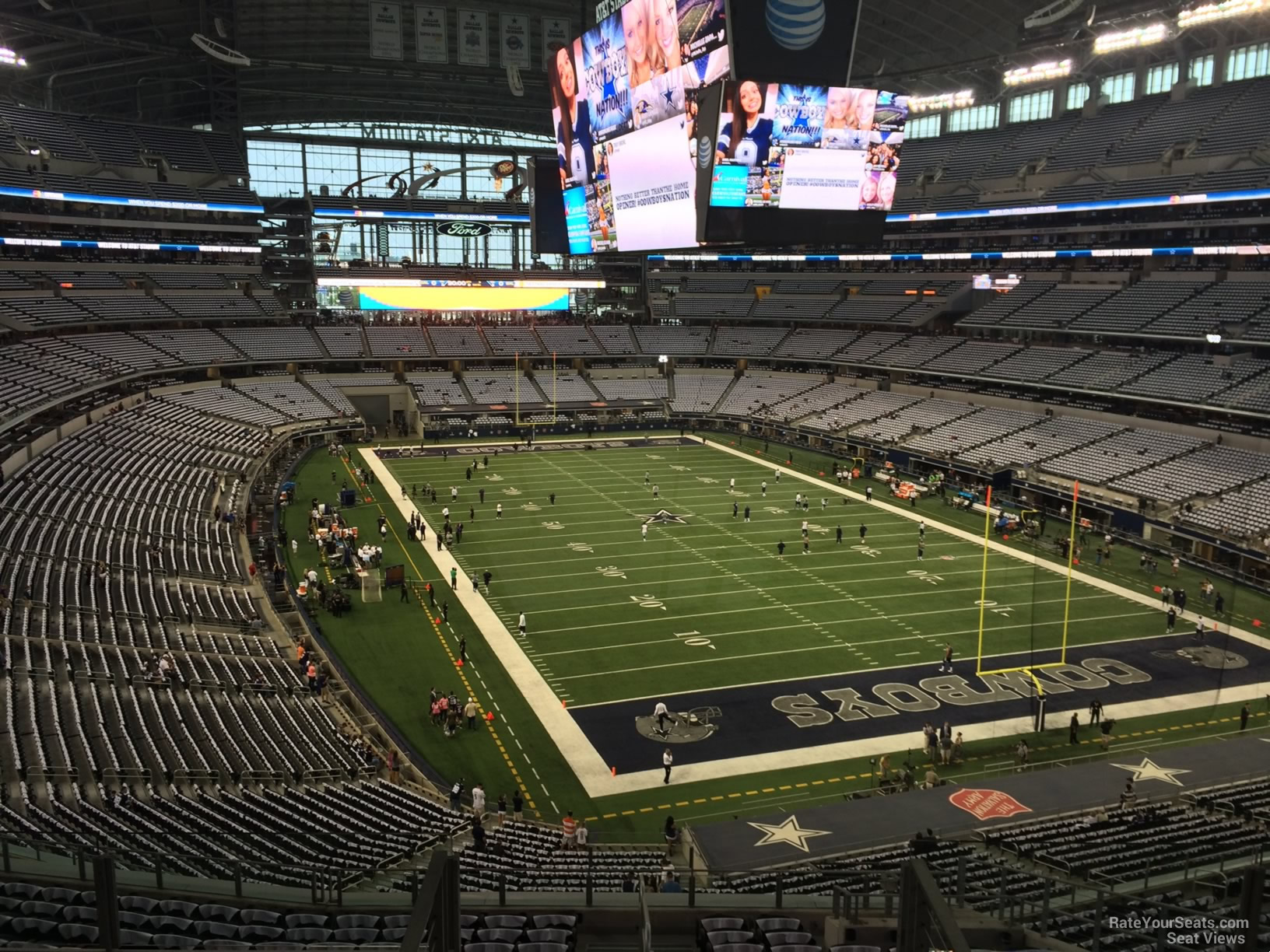 AT&T Stadium Section 327 - Dallas Cowboys - RateYourSeats.com
