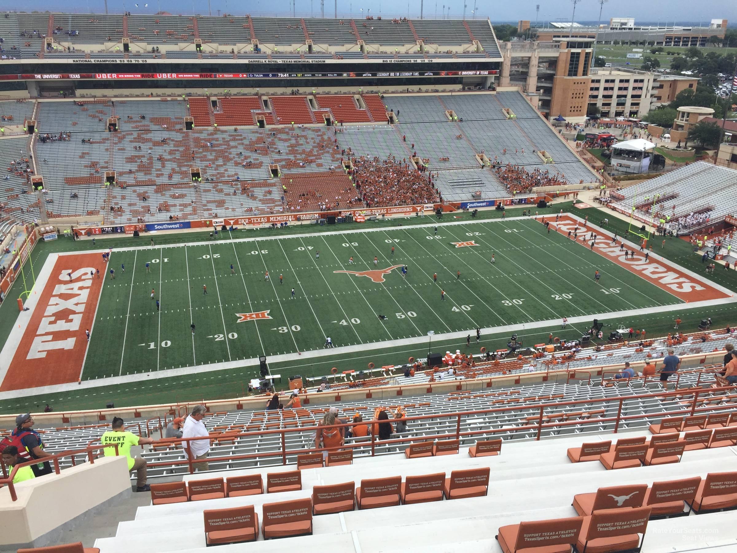 DKR-Texas Memorial Stadium Section 106 - RateYourSeats.com on darrell k royal stadium map, acc stadium map, dkr parking map, dkr stadium-seating chart view, dkr football seating capacity, milan puskar stadium map, ut stadium map, dkr suite map, texas stadium map,