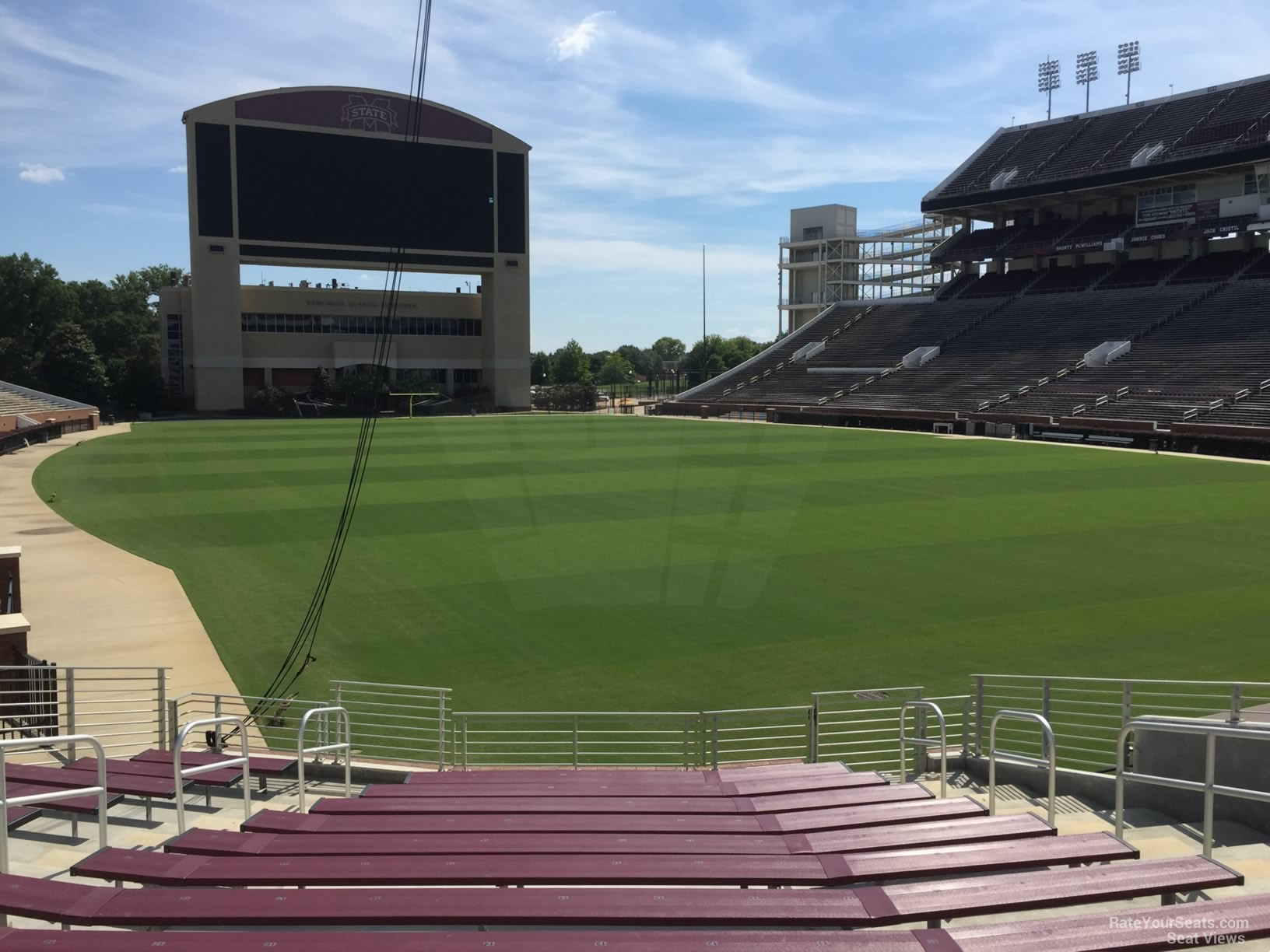 Seat View for Davis Wade Stadium Section 14, Row 22