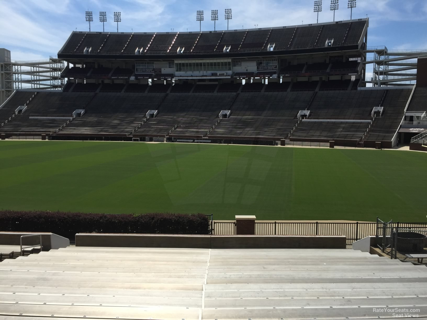 Seat View for Davis Wade Stadium Section 18, Row 22