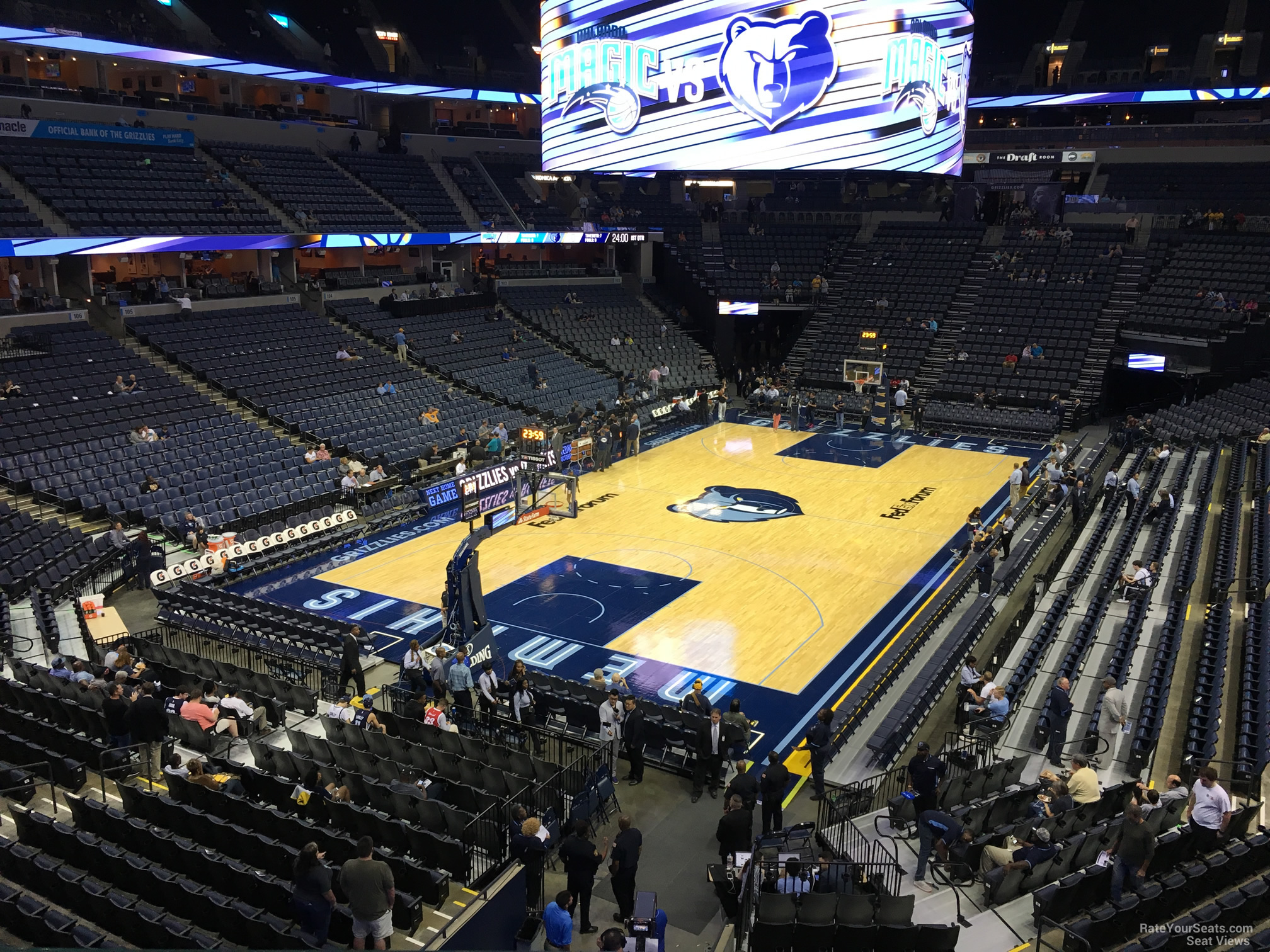 Seat View for FedEx Forum Section 111A