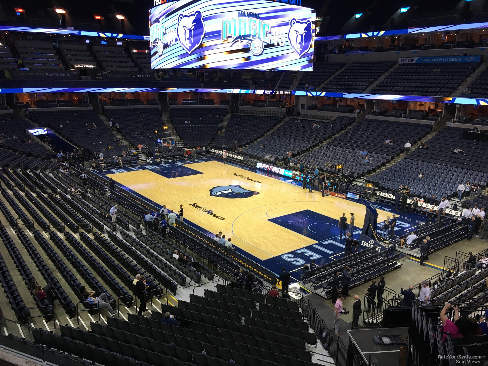 Seat View for FedEx Forum Section 116A