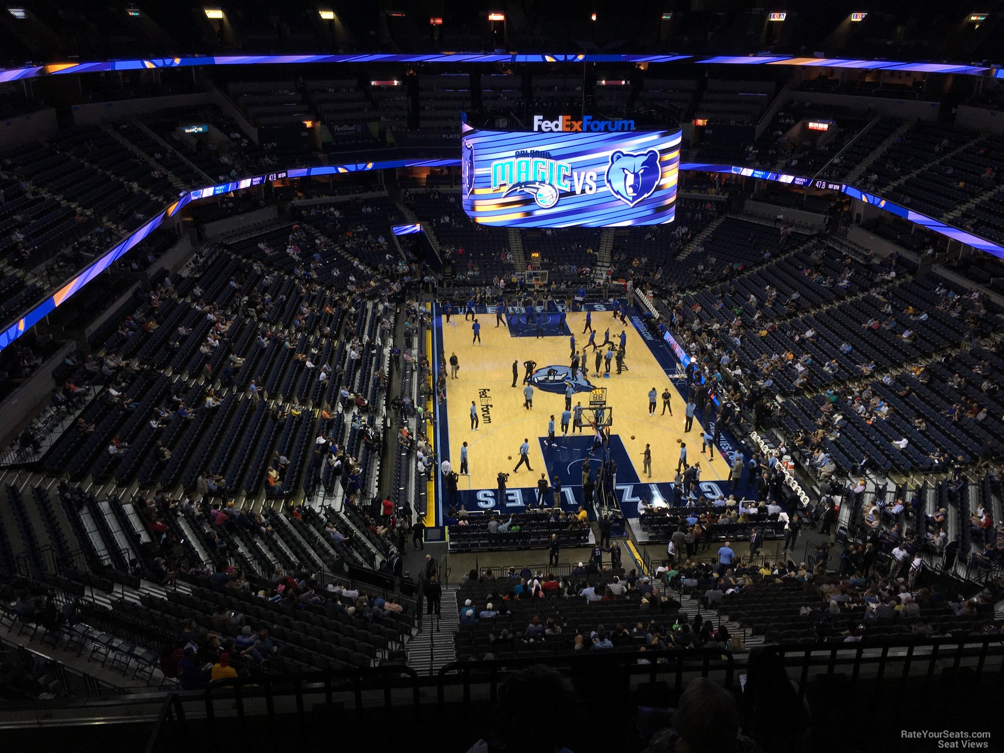 Seat View for FedEx Forum Section 232, Row F