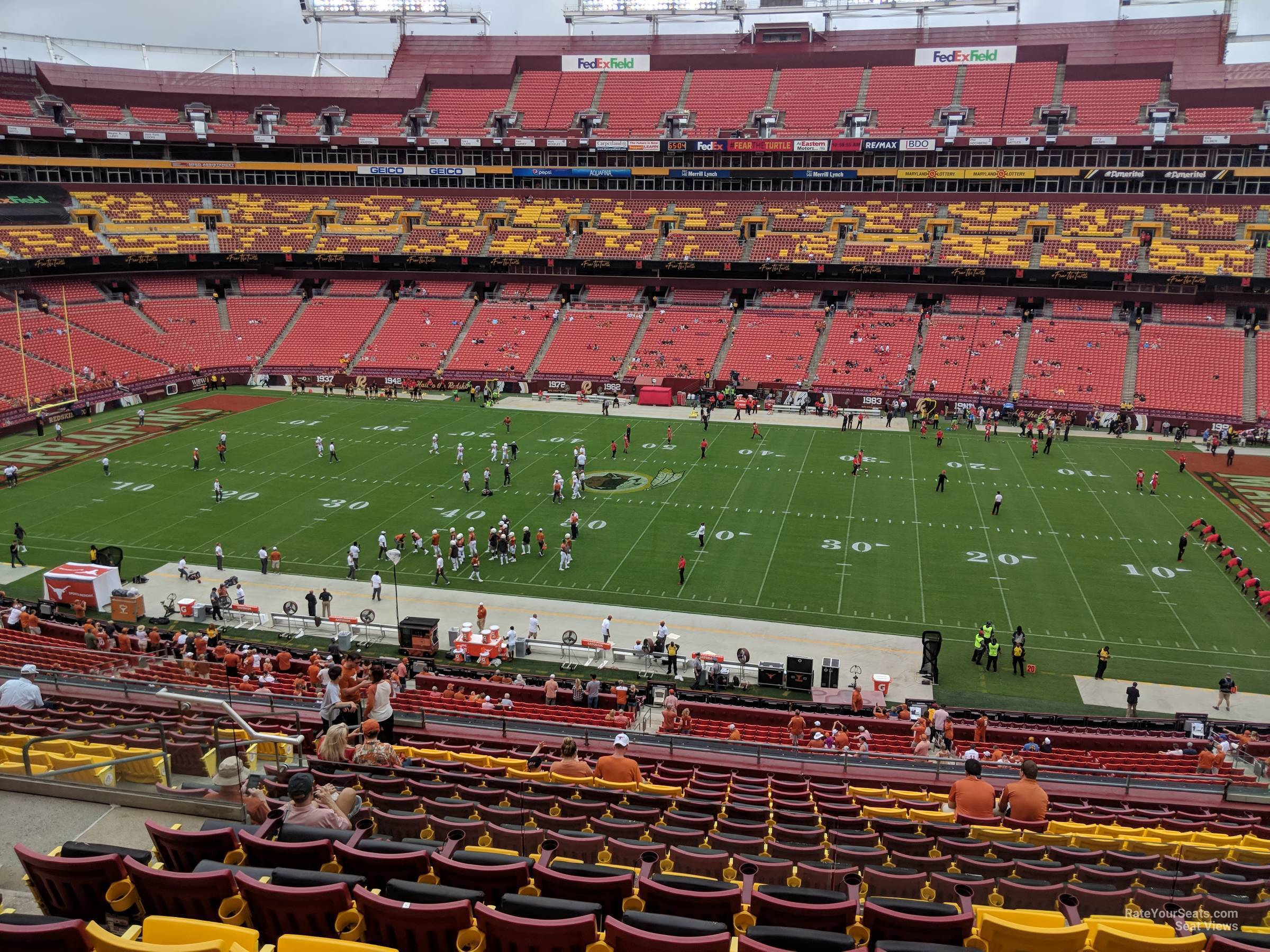 Zone A Club 320 At Fedexfield Rateyourseats Com