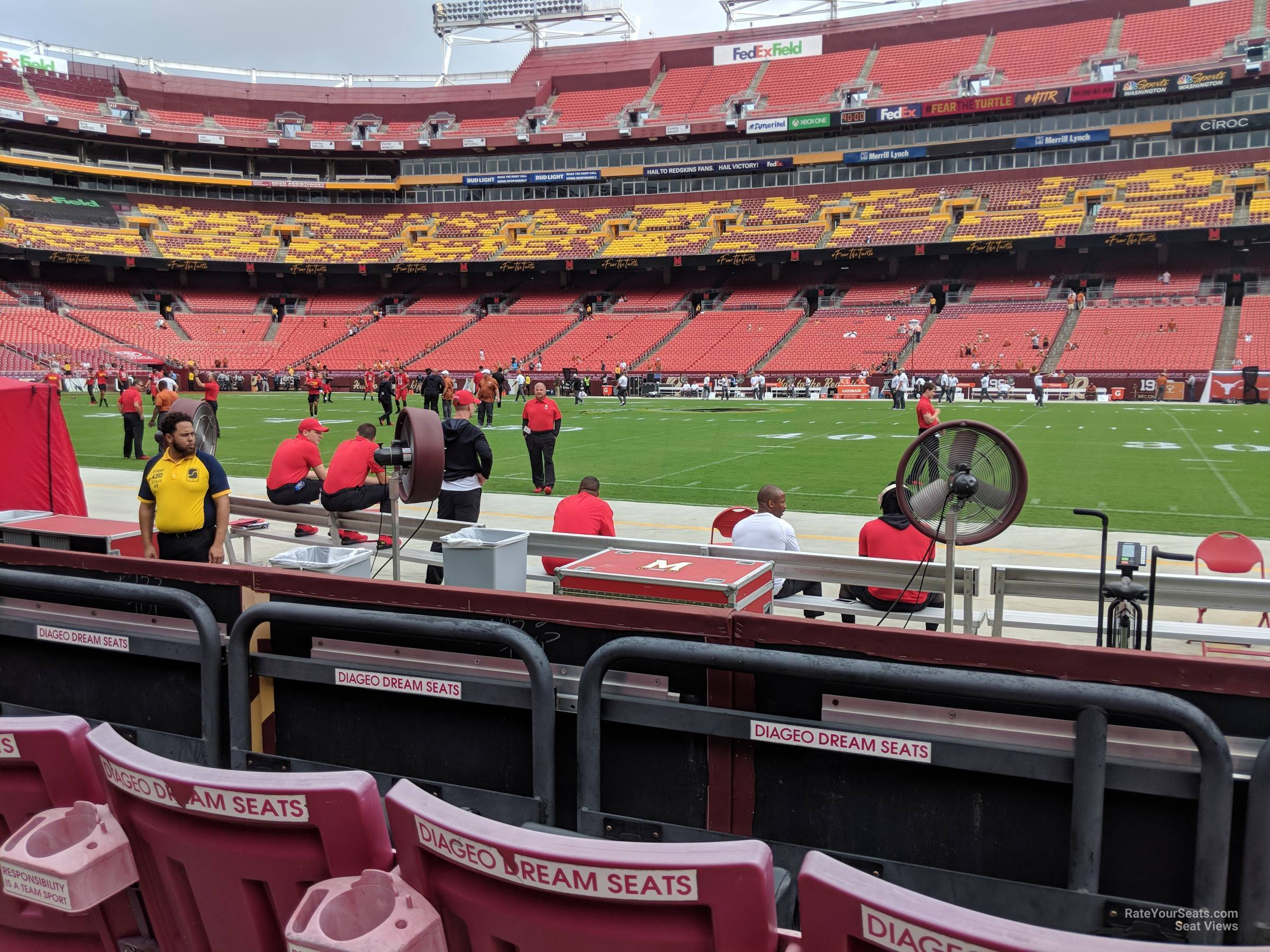 Section 41 at FedExField - RateYourSeats.com