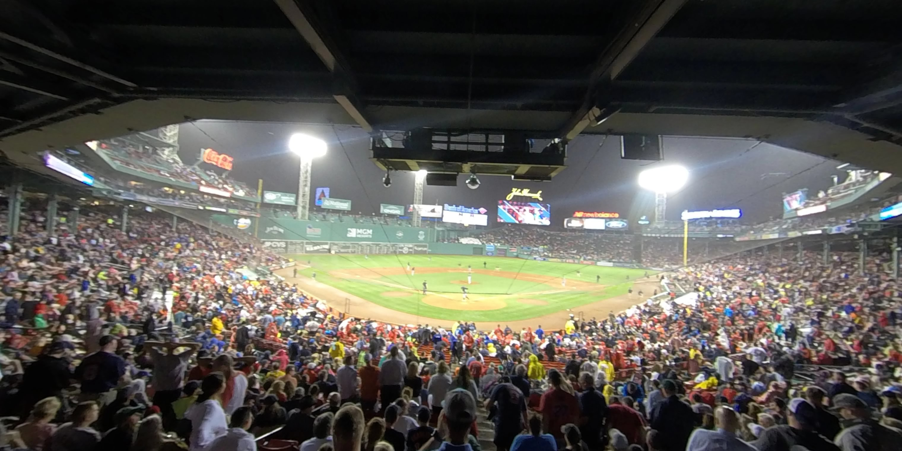 360° Photo From Fenway Park Grandstand 21