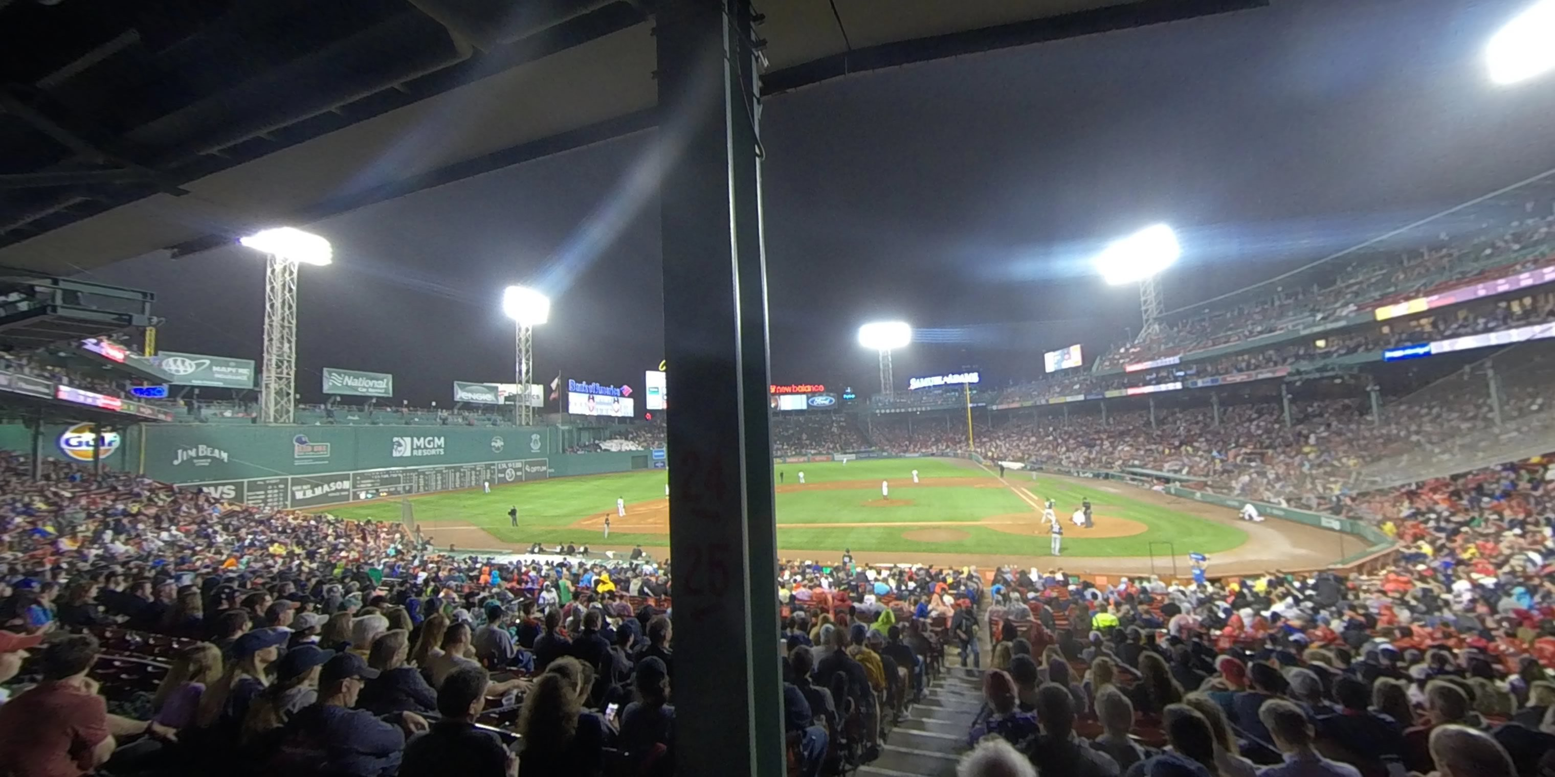 360° Photo From Fenway Park Grandstand 25