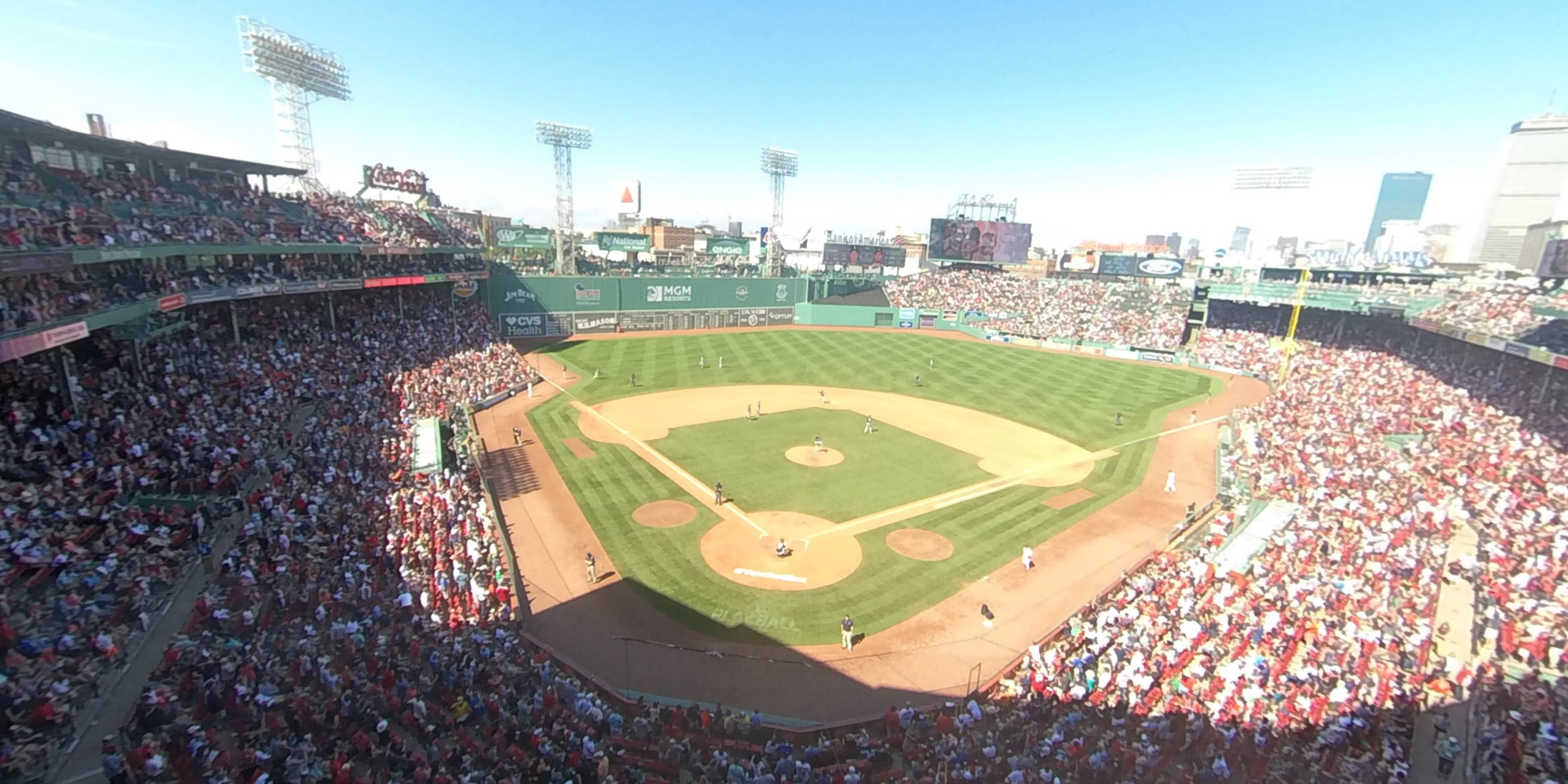 360° Photo From Fenway Park Home Plate Pavilion Club 2
