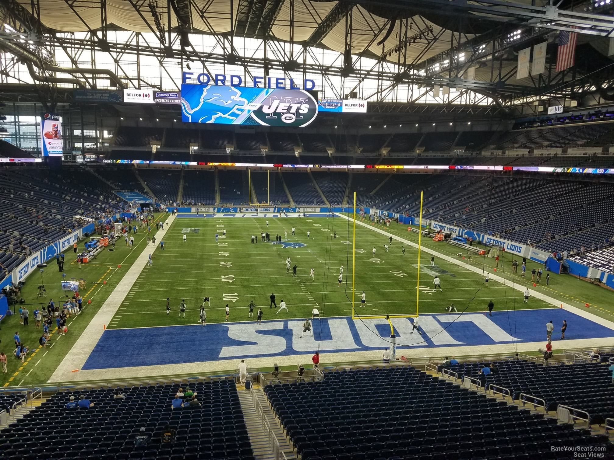 North Side Ford >> Ford Field Section 217 - Detroit Lions - RateYourSeats.com