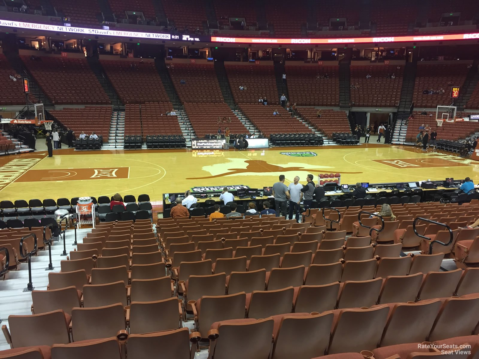 Section 49 At Frank Erwin Center Texas Basketball Rateyourseats Com