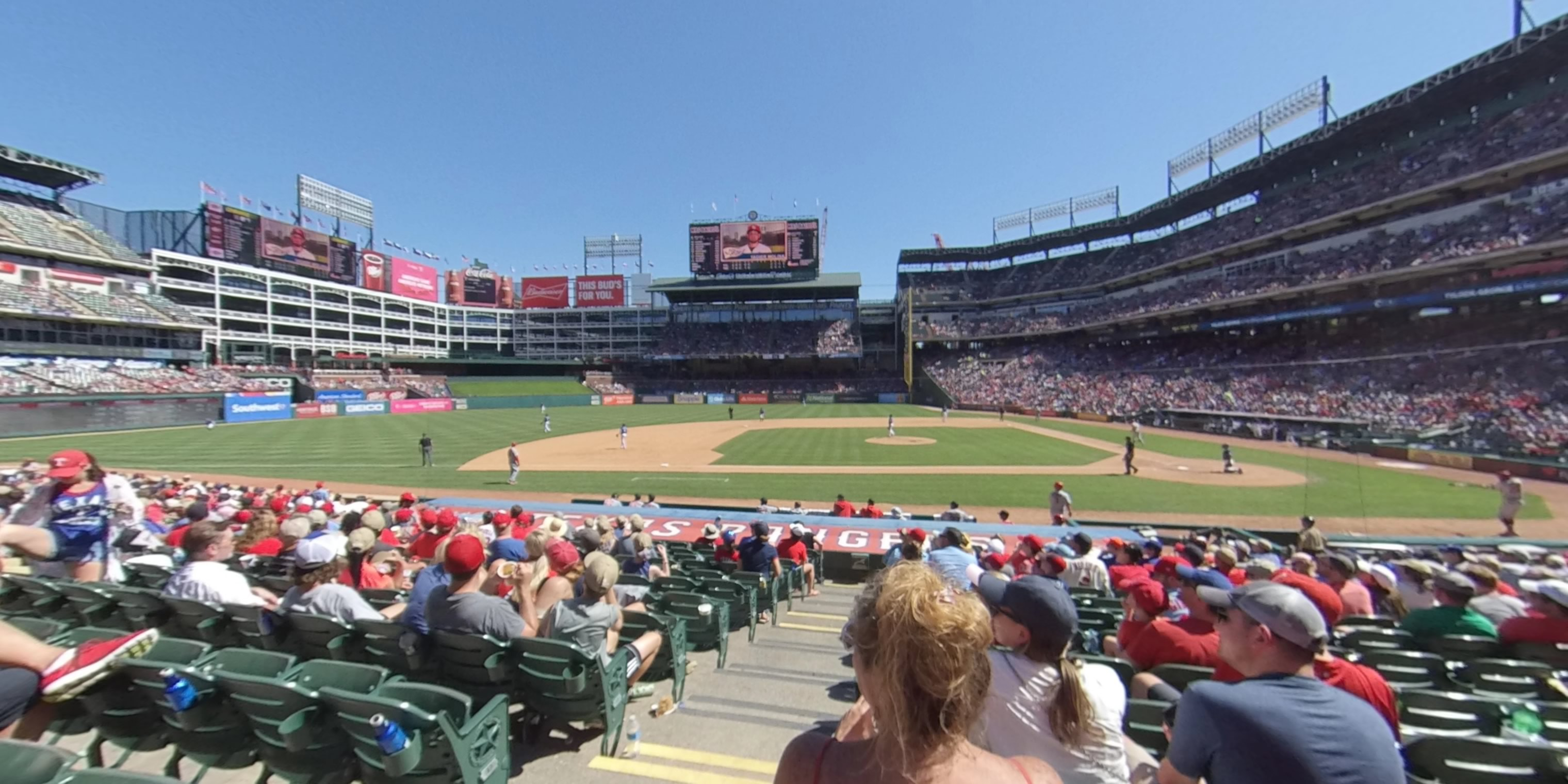 360° Photo From Globe Life Park Section 19