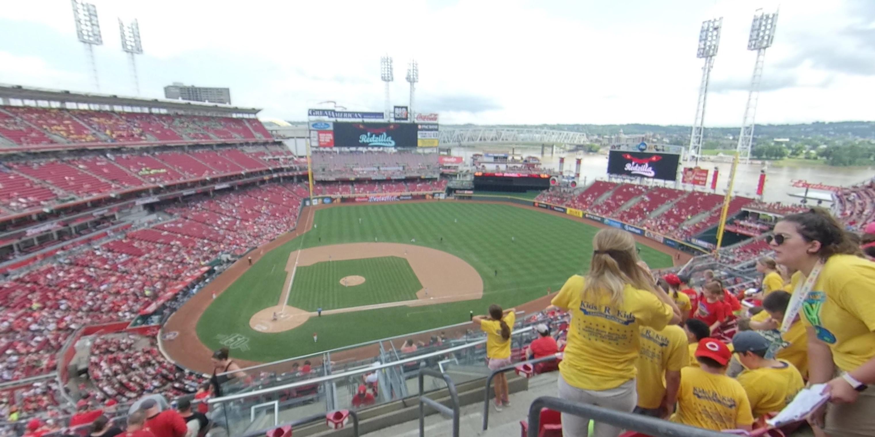 Great American Ball Park Section 528 - Cincinnati Reds ...