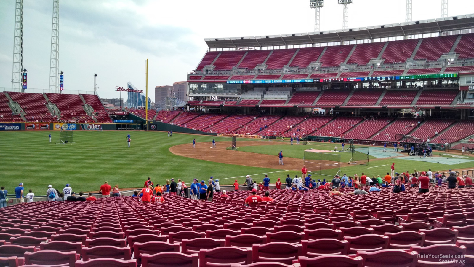 Great American Ball Park Seating Chart