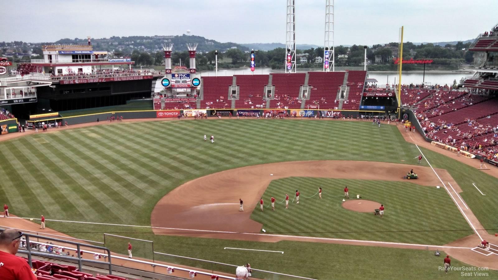 Section 417 At Great American Ball Park Cincinnati Reds Rateyourseats Com