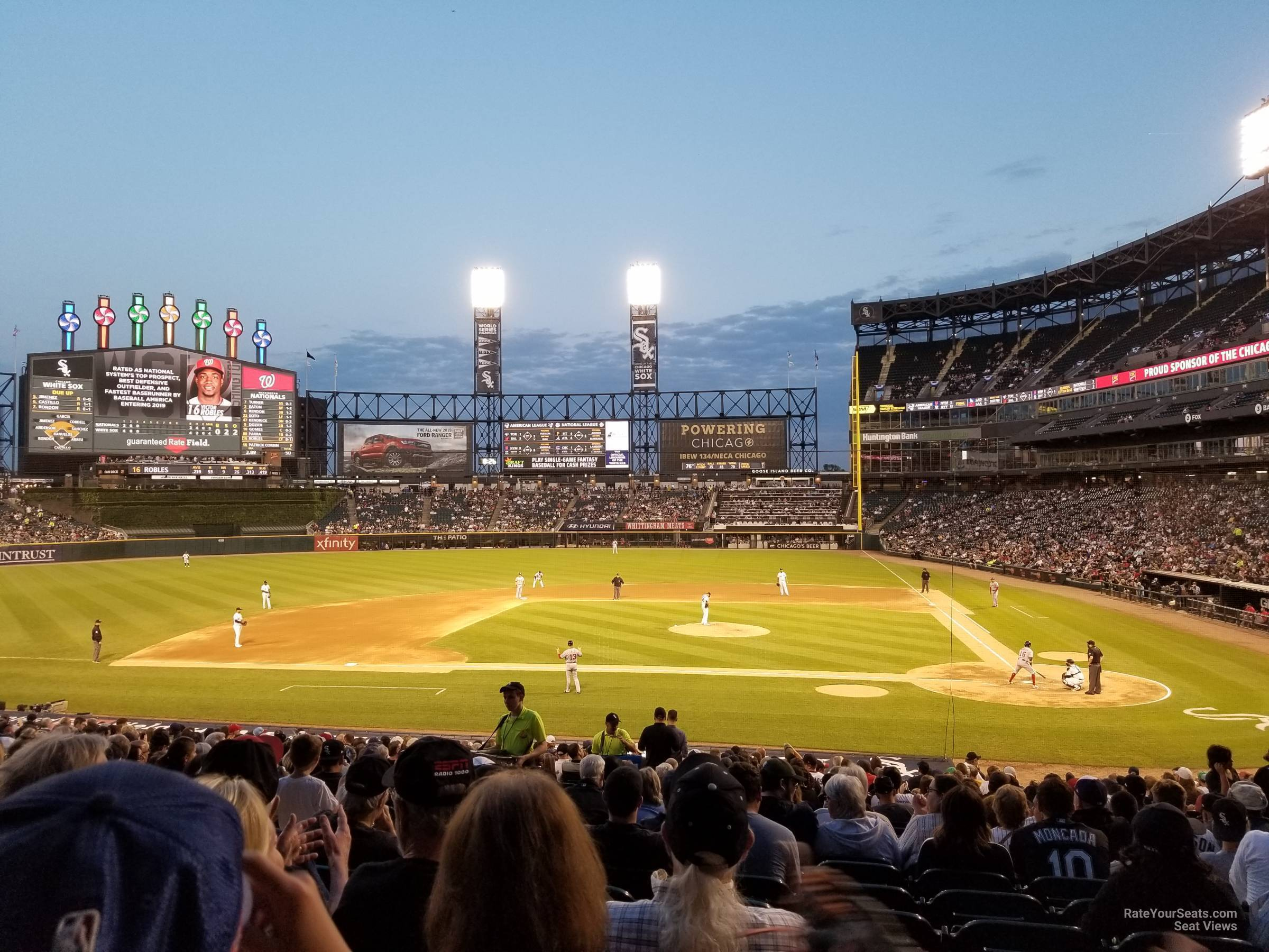 Seat View for Guaranteed Rate Field Section 137, Row 29