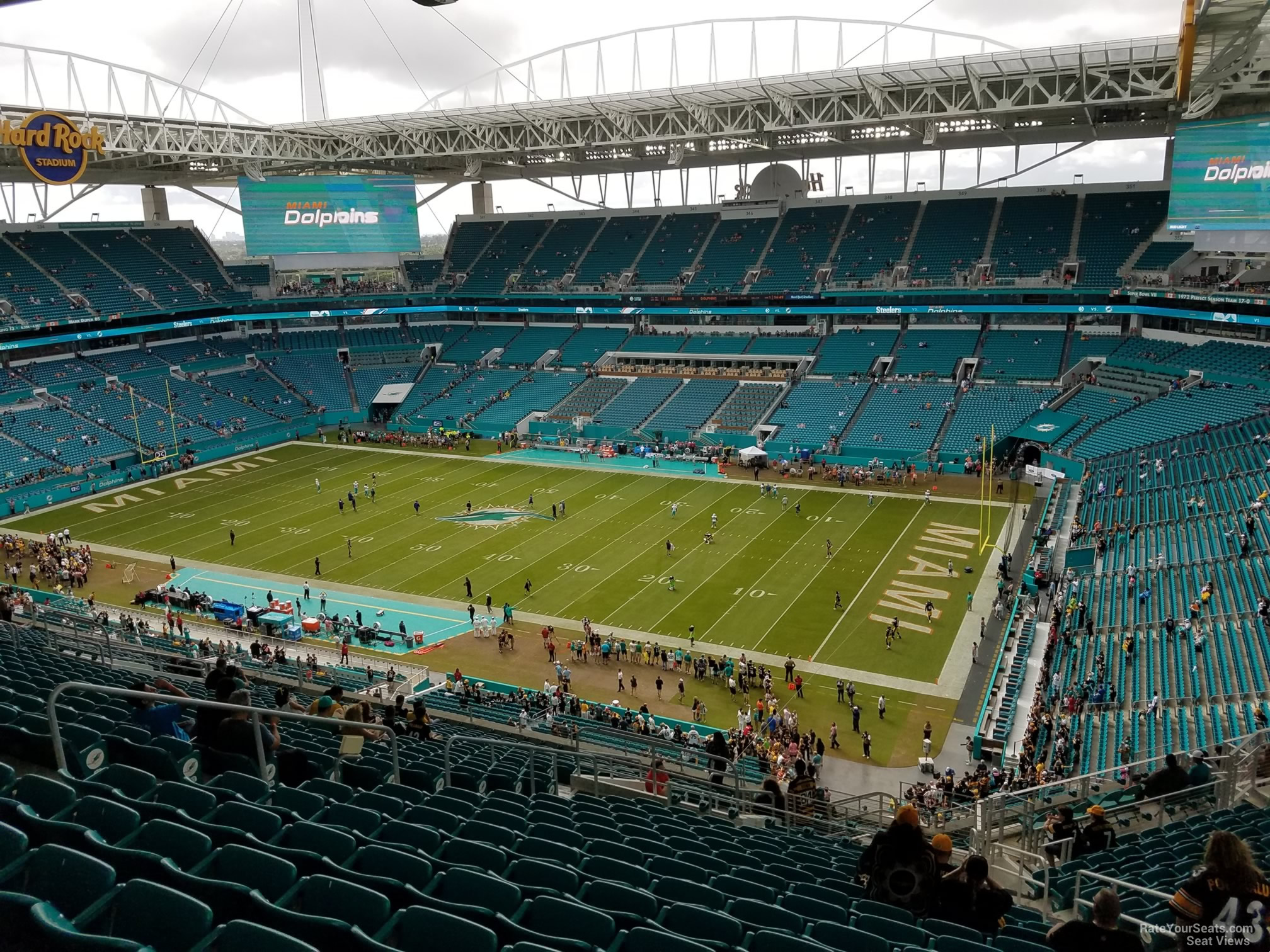 hard rock stadium section 313 - miami dolphins