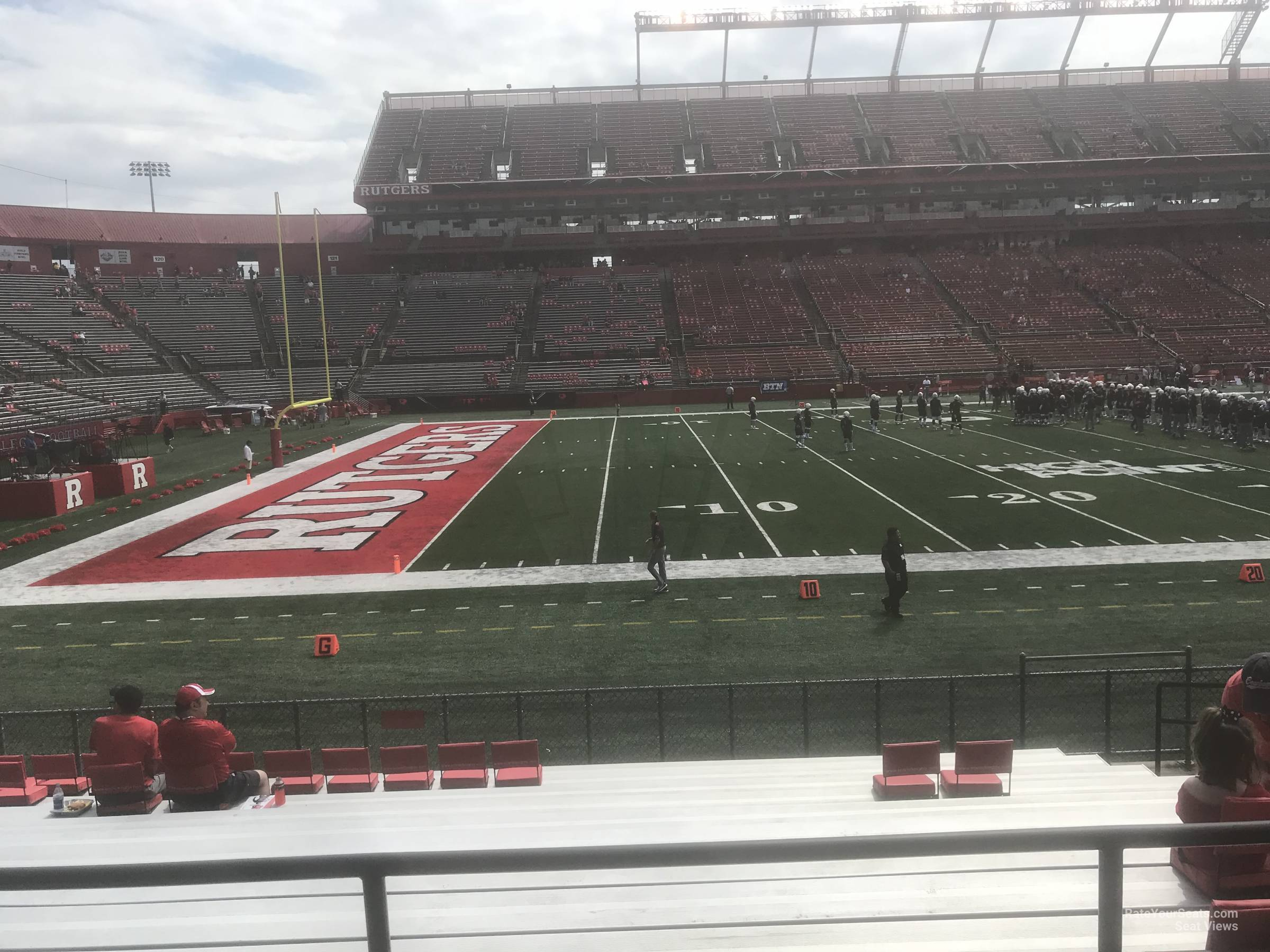 Seat View for High Point Solutions Stadium Section 108, Row 11