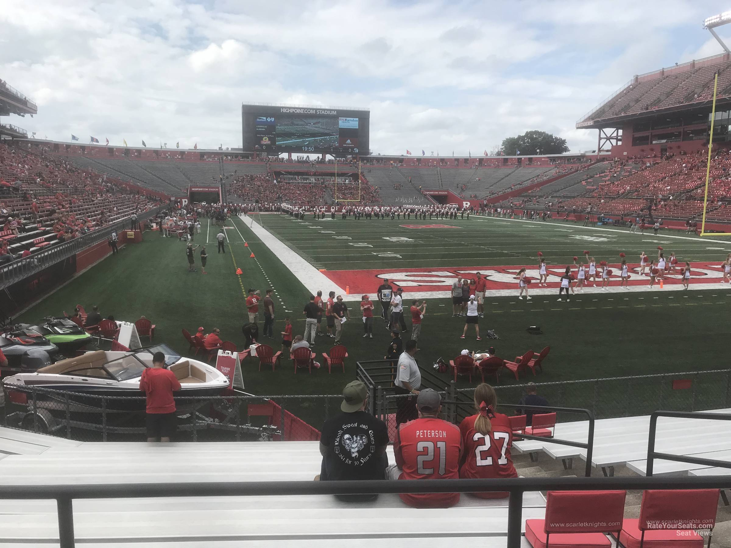 Seat View for High Point Solutions Stadium Section 118, Row 11
