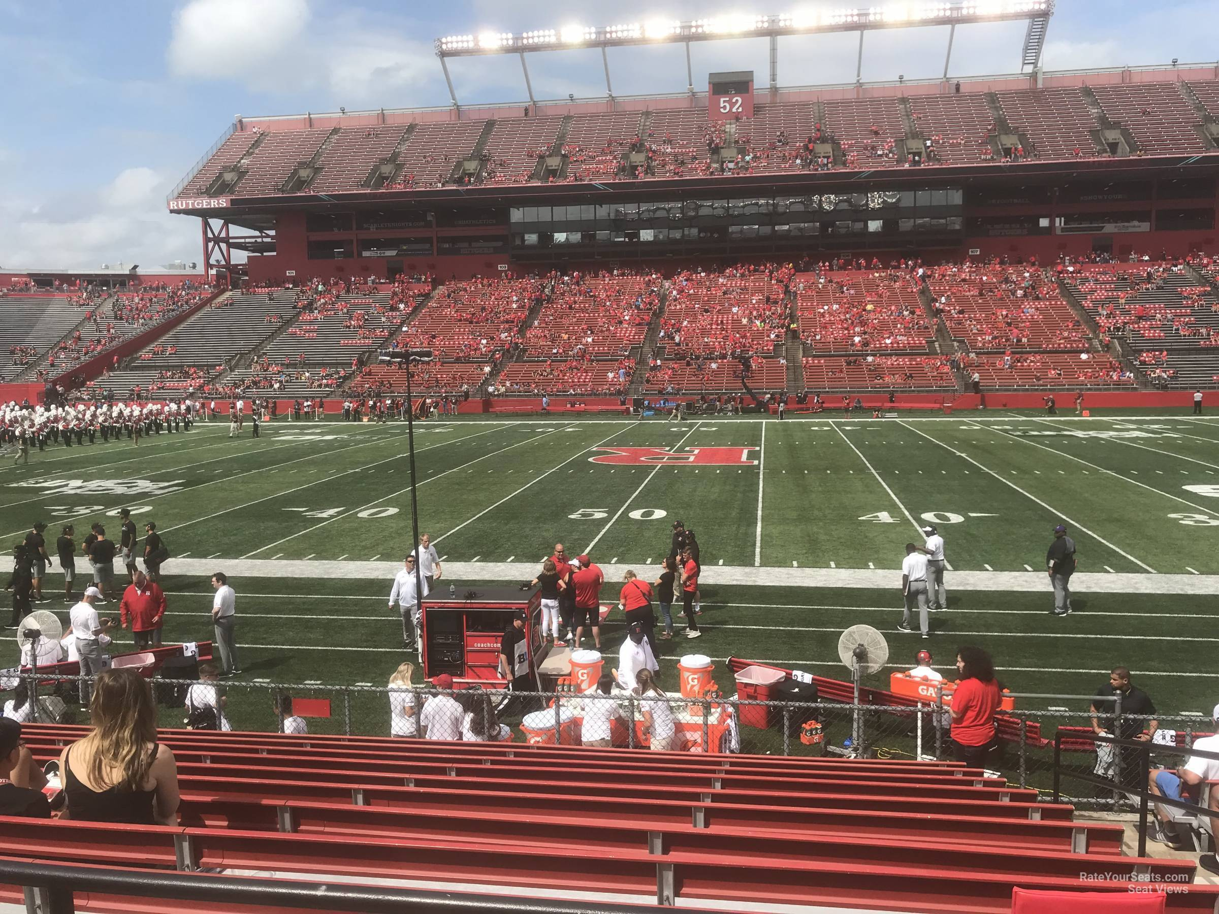 Seat View for High Point Solutions Stadium Section 126, Row 11