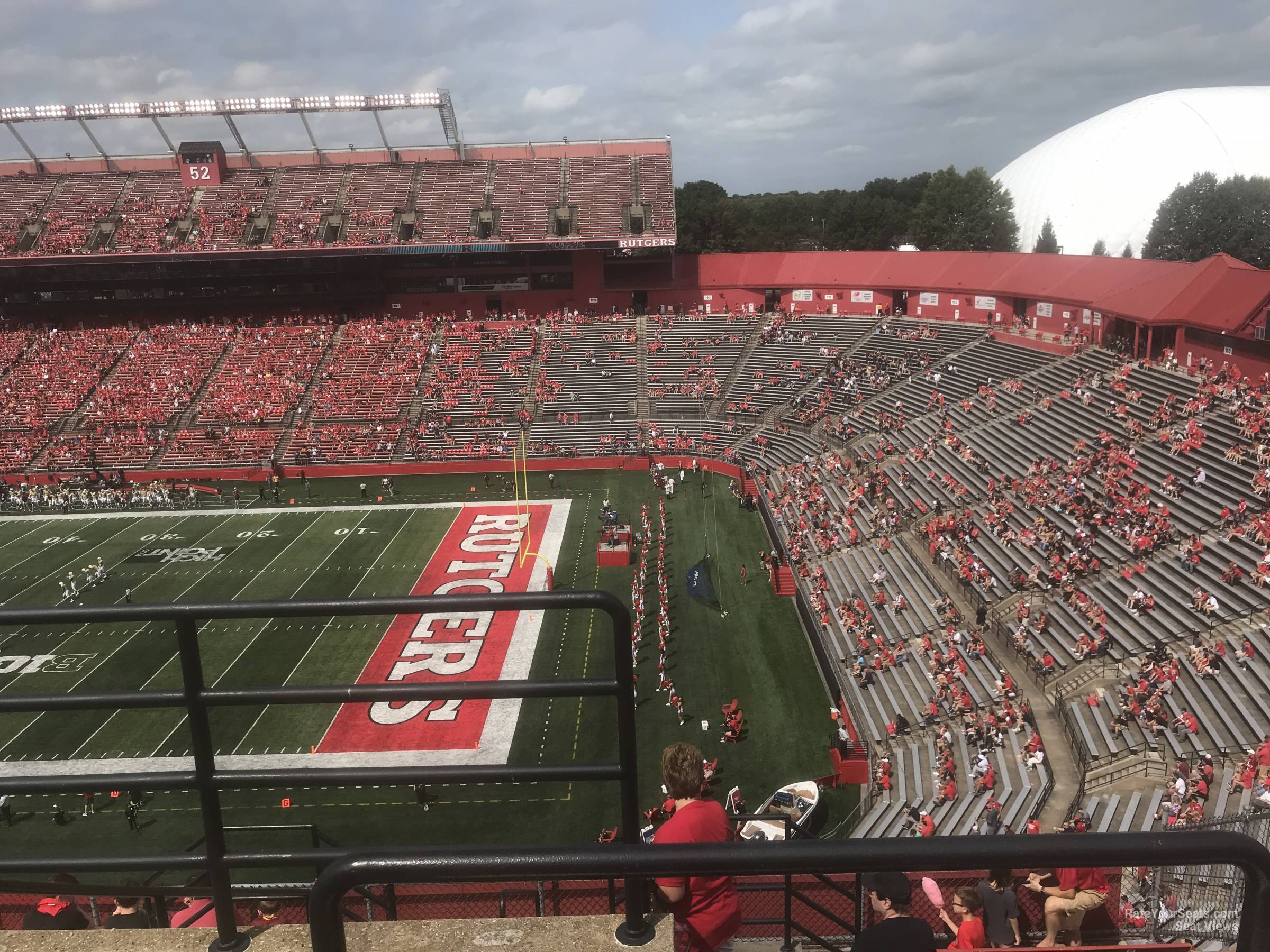 Seat View for High Point Solutions Stadium Section 201, Row 10