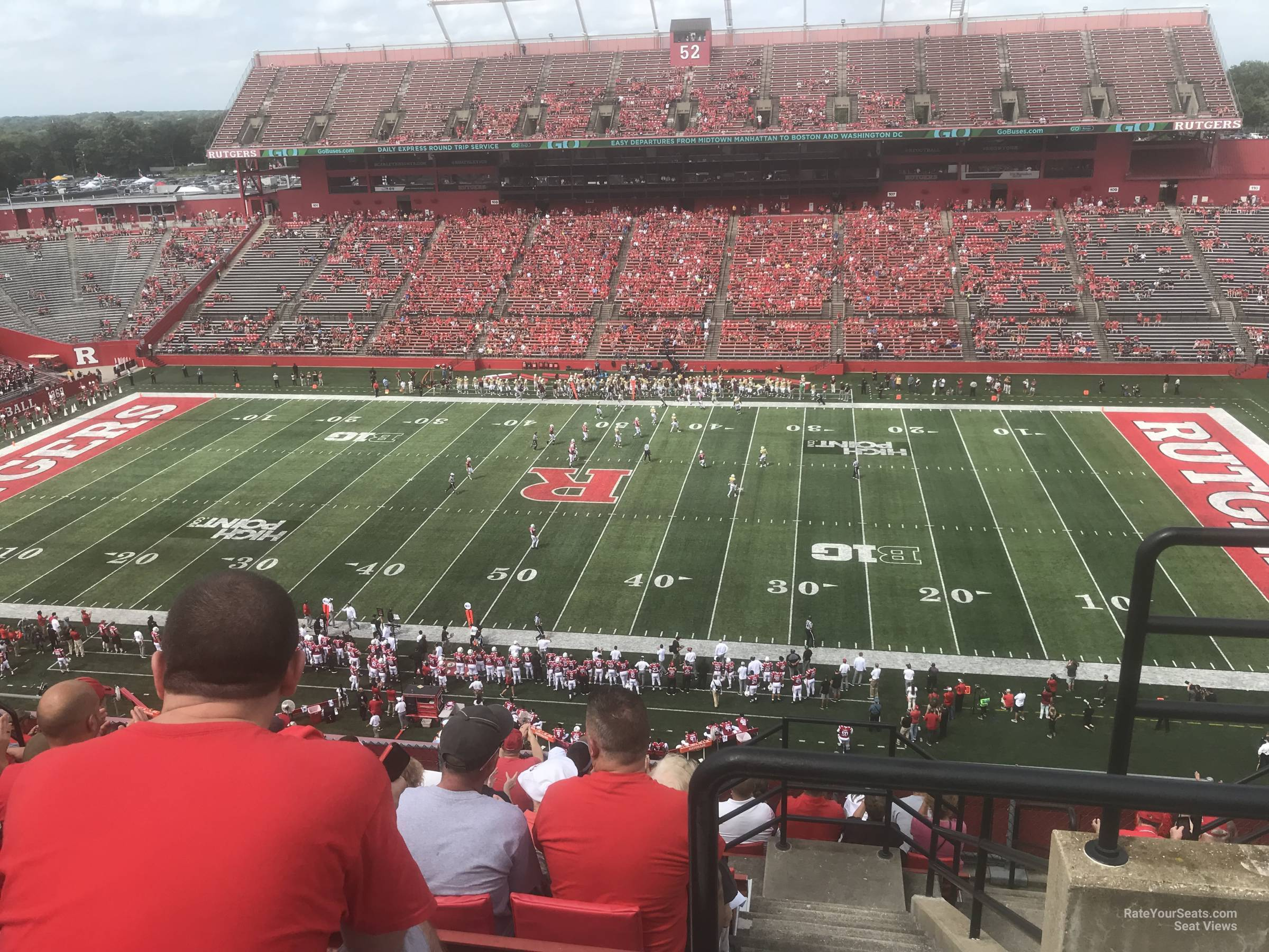 Seat View for High Point Solutions Stadium Section 206, Row 10