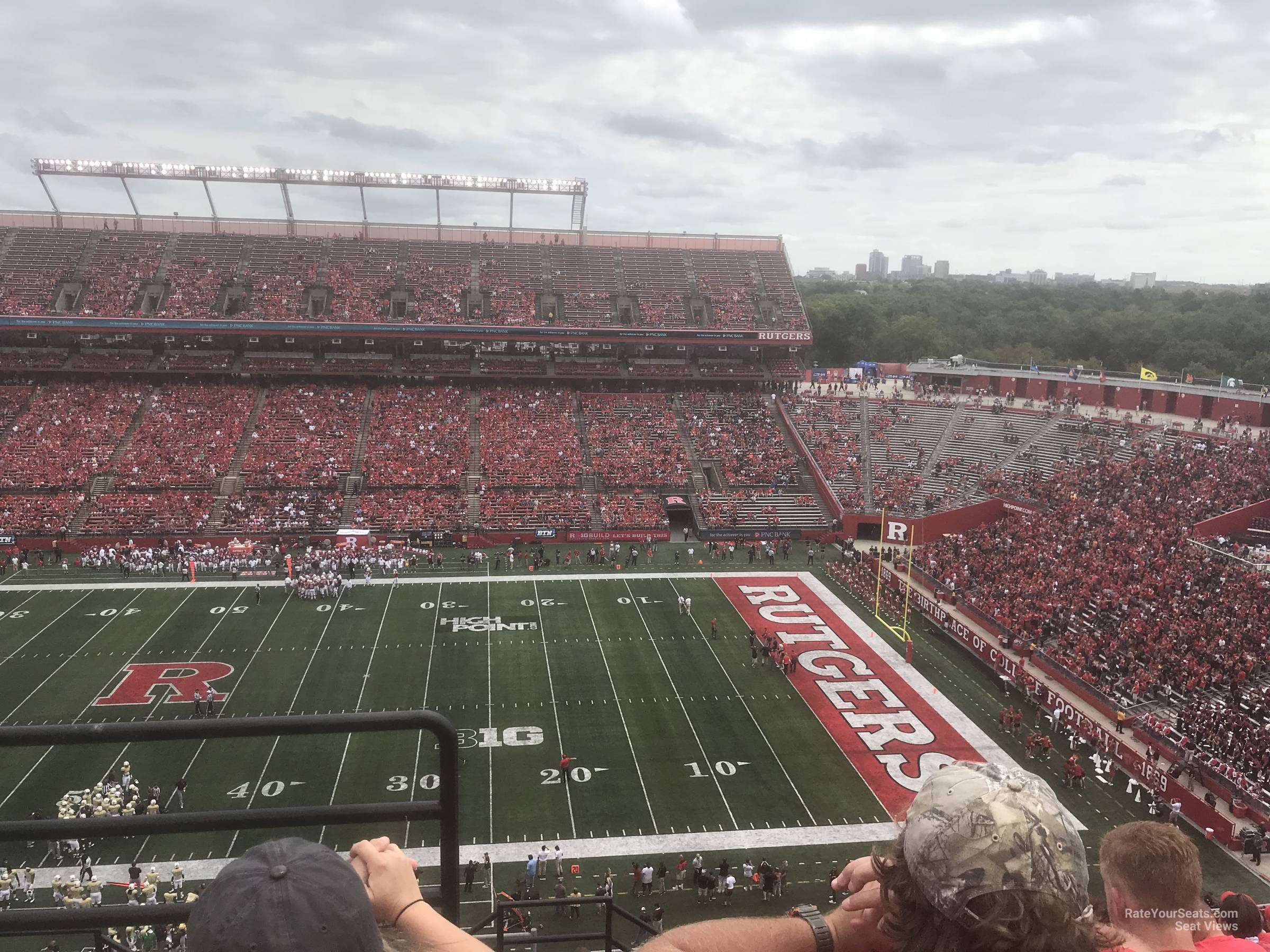 Seat View for High Point Solutions Stadium Section 221, Row 10