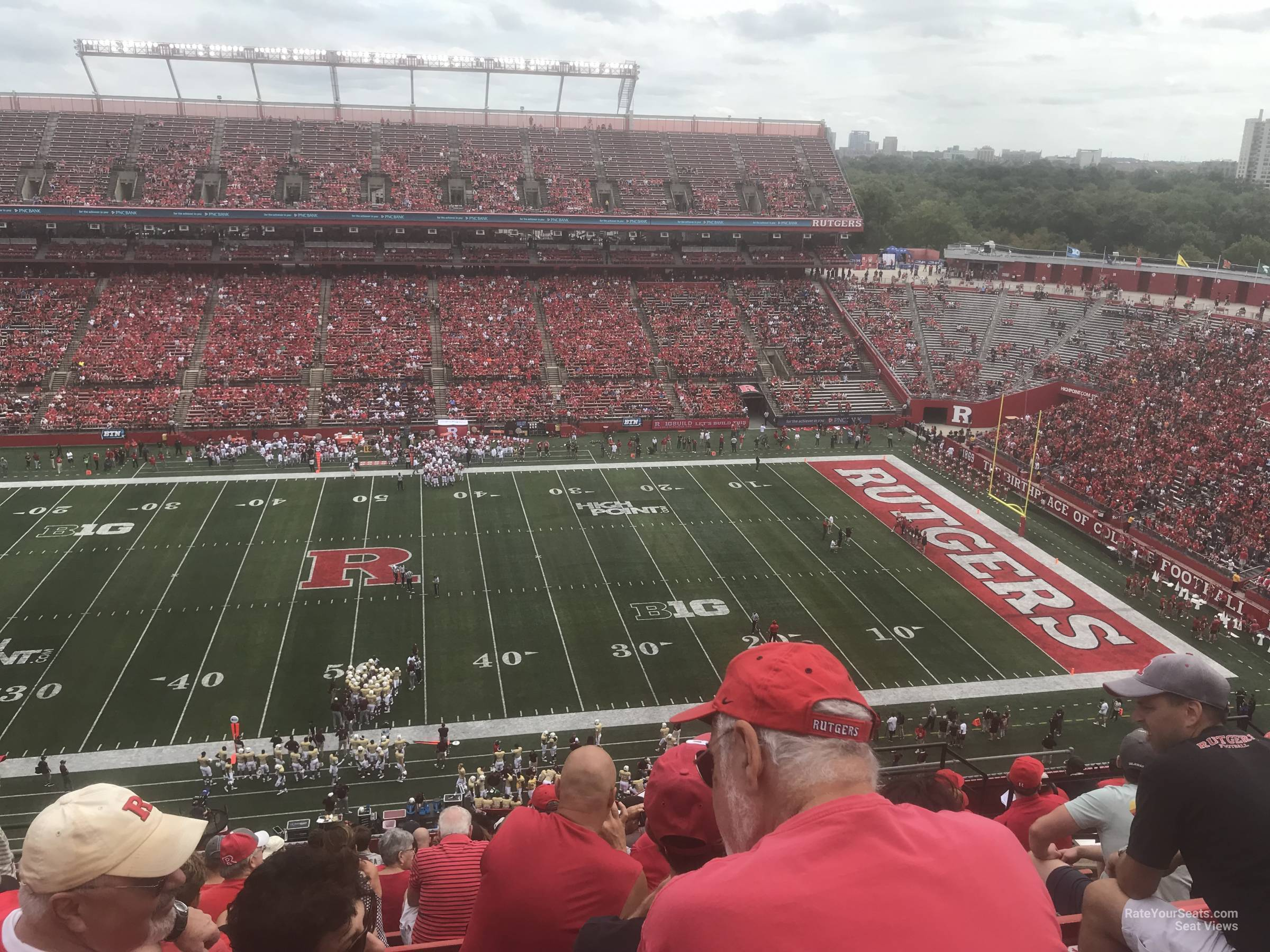 Seat View for High Point Solutions Stadium Section 223, Row 10