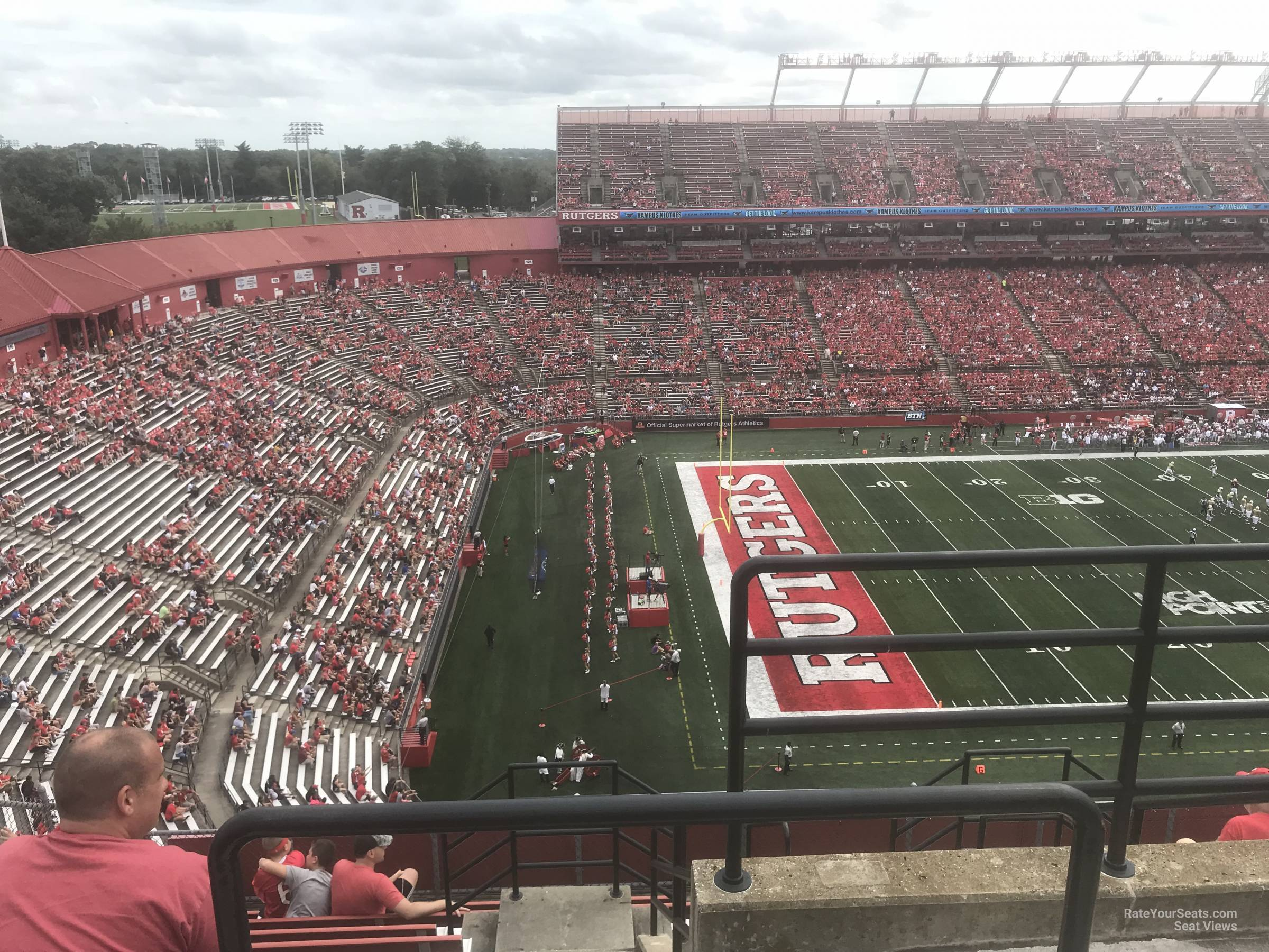 Seat View for High Point Solutions Stadium Section 229, Row 10