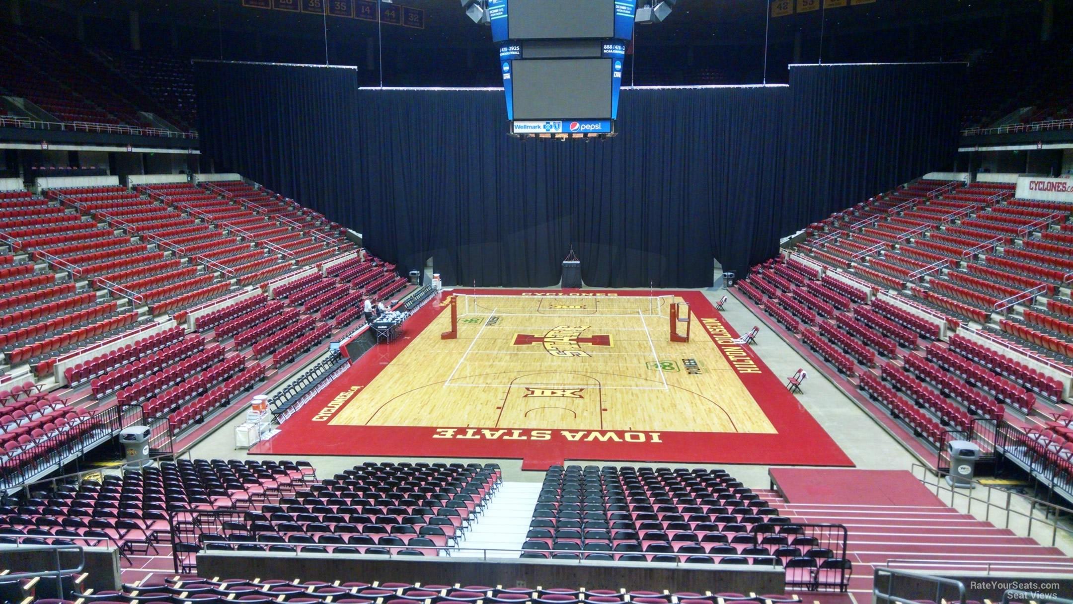 Hilton Coliseum Section 101 Rateyourseatscom