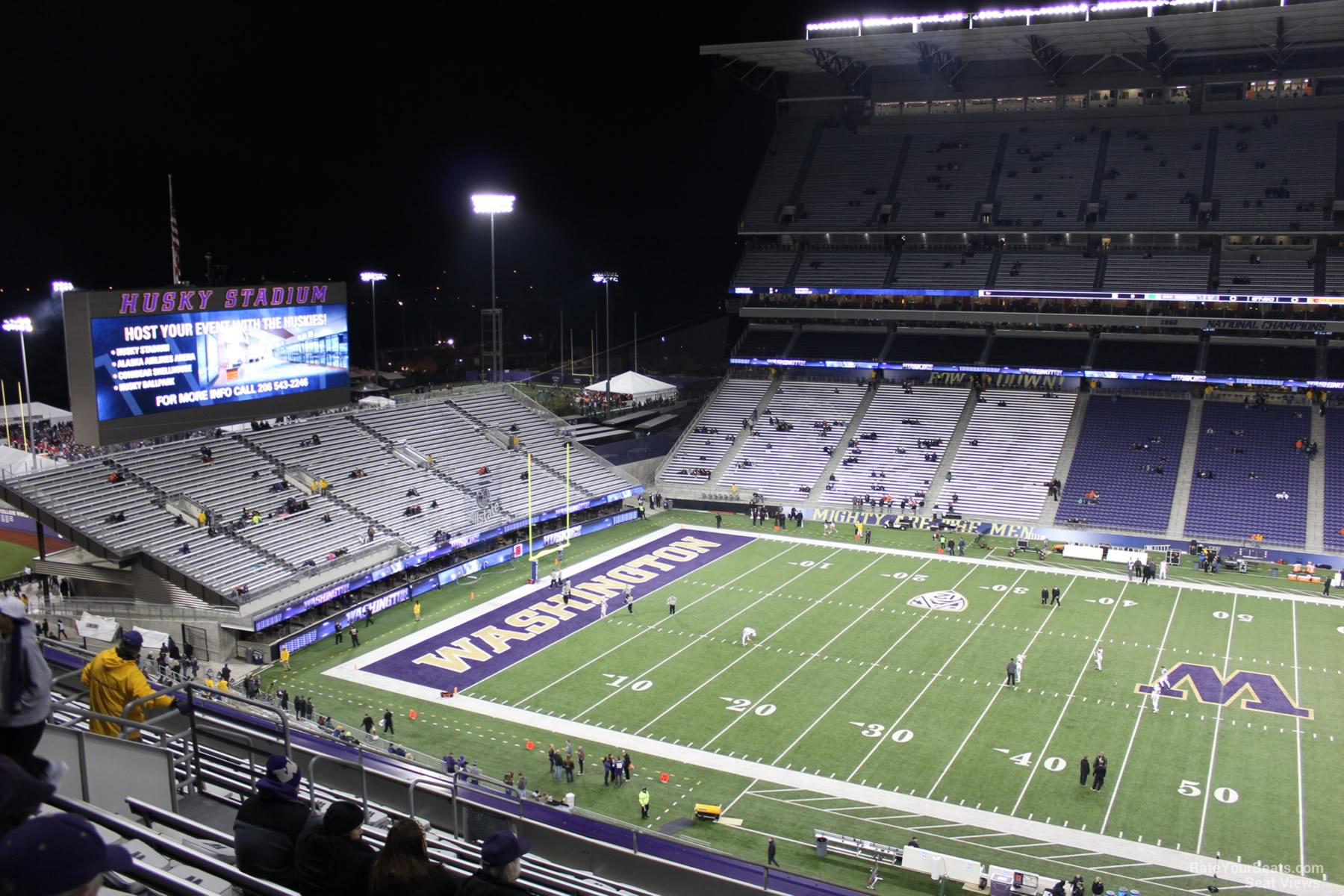 Husky Stadium Section 329
