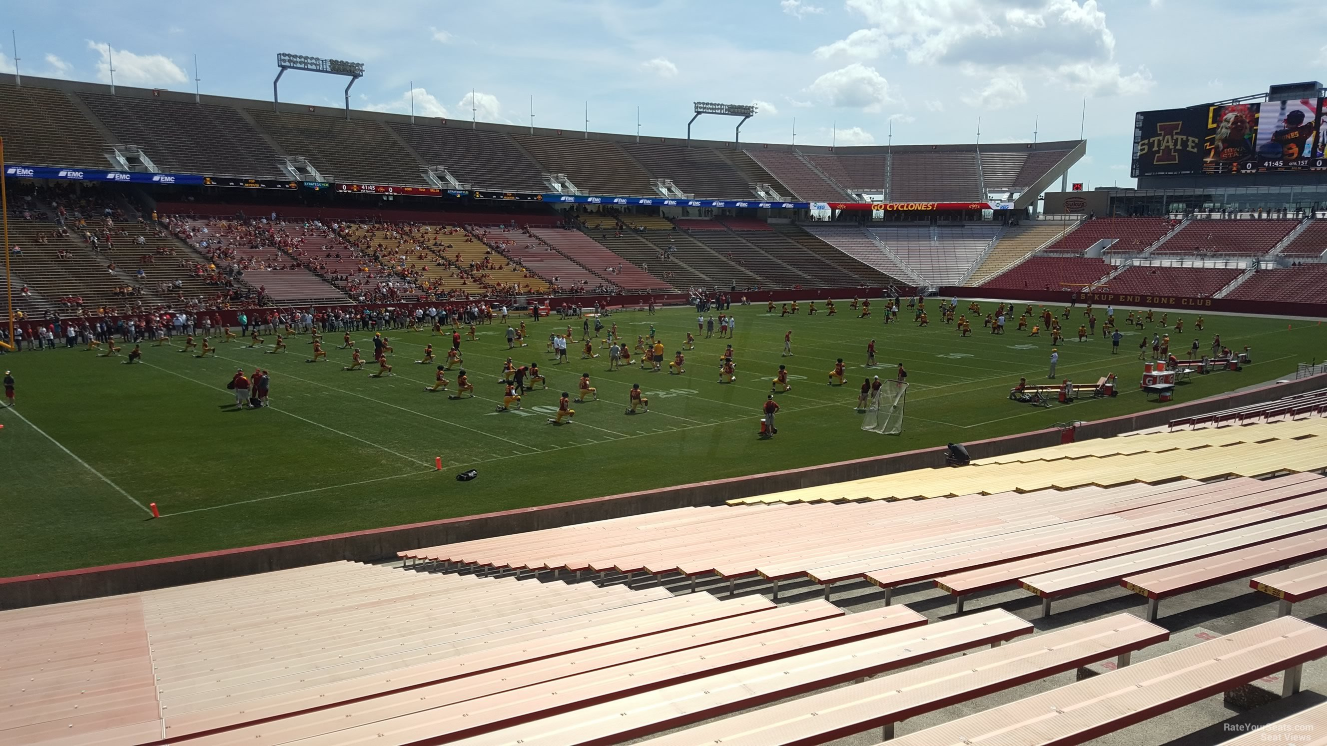Jack Trice Stadium Section 2 Rateyourseatscom