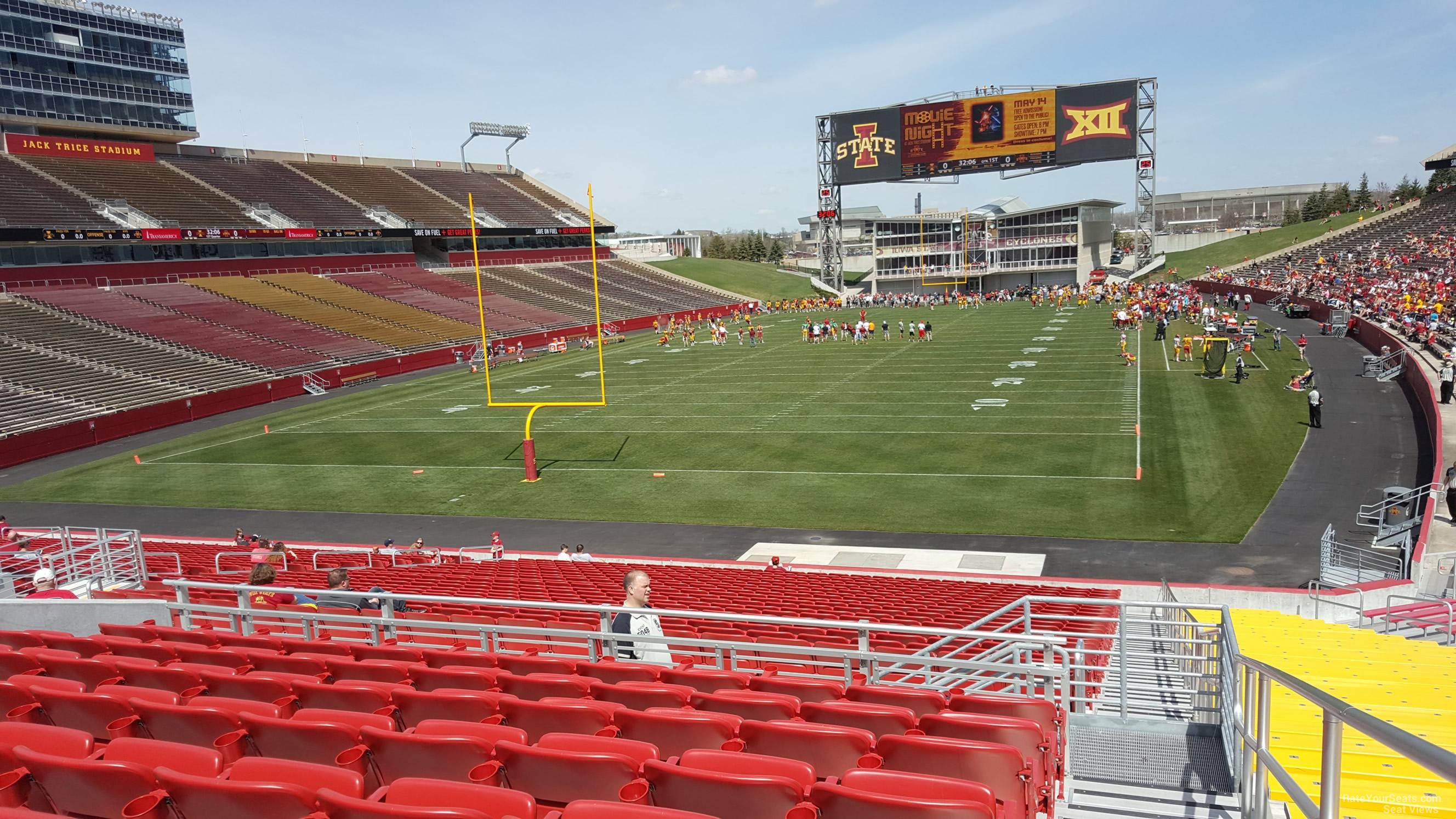 Jack Trice Stadium Section 22 Rateyourseatscom