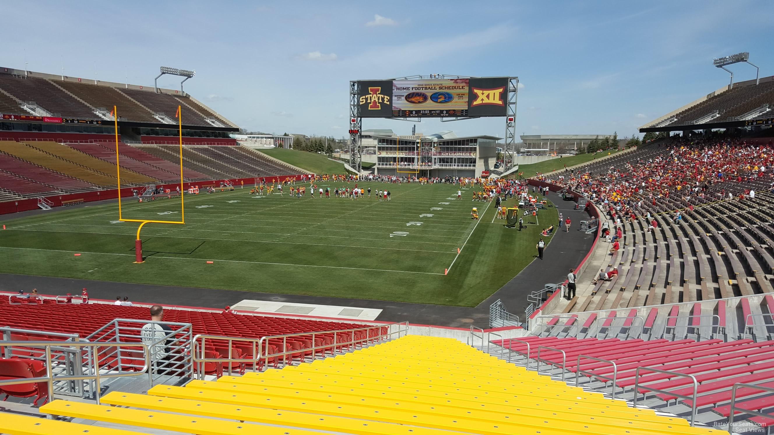 Jack Trice Stadium Section 23 Rateyourseatscom