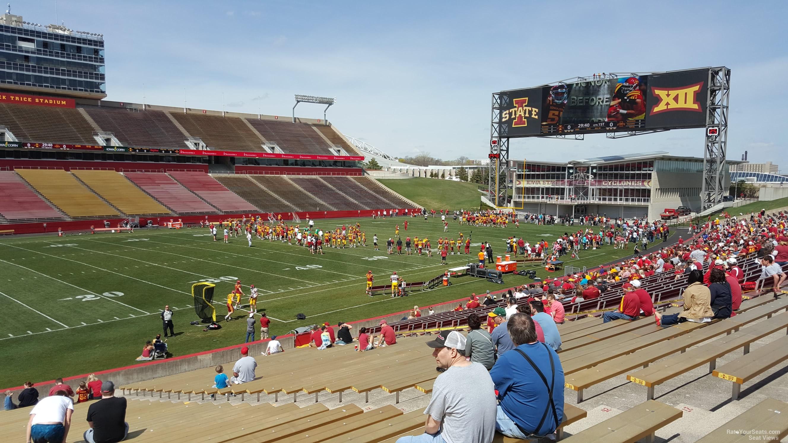 Jack Trice Stadium Section 29 Rateyourseatscom