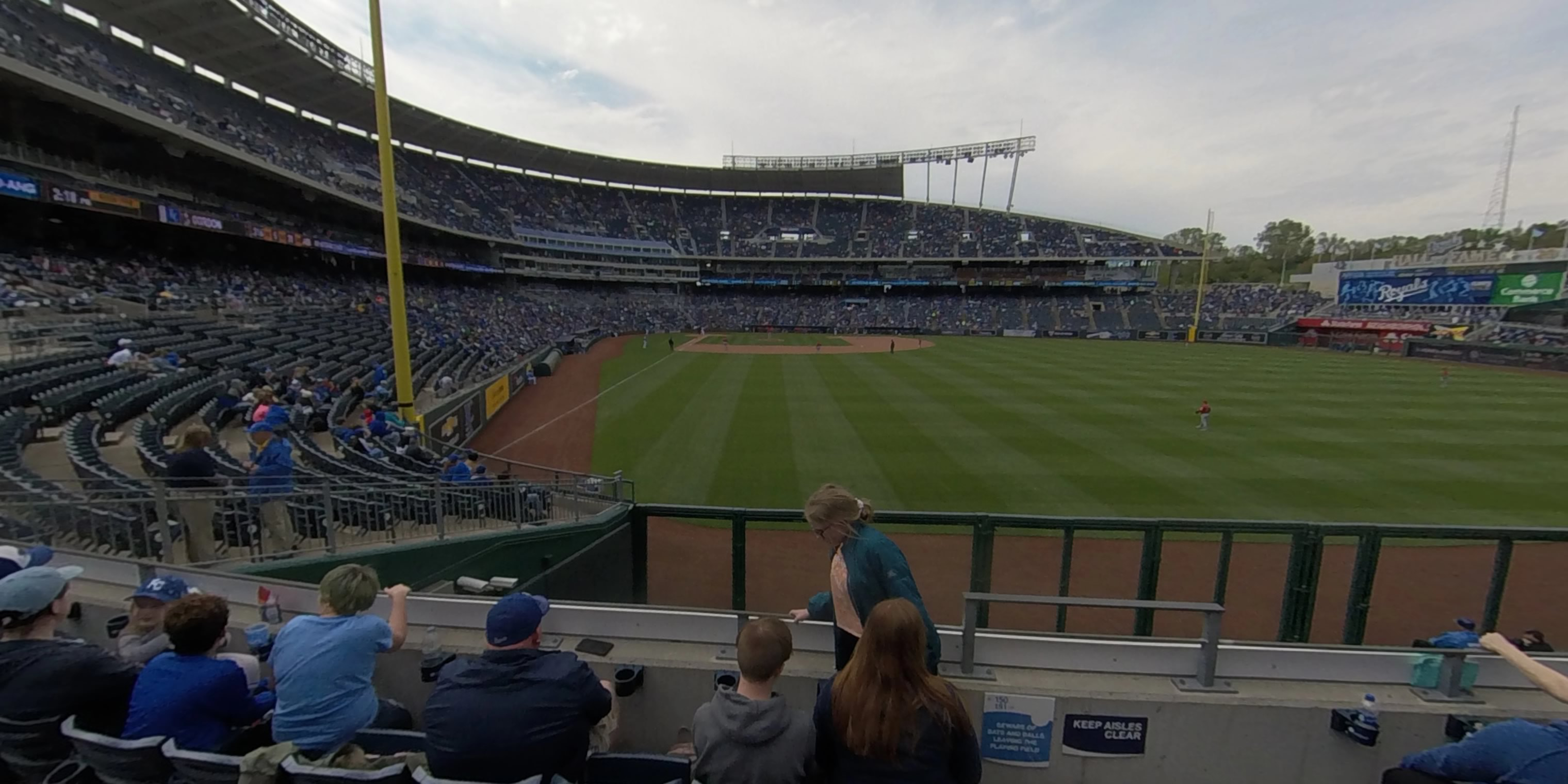 360° Photo From Kauffman Stadium Section 151