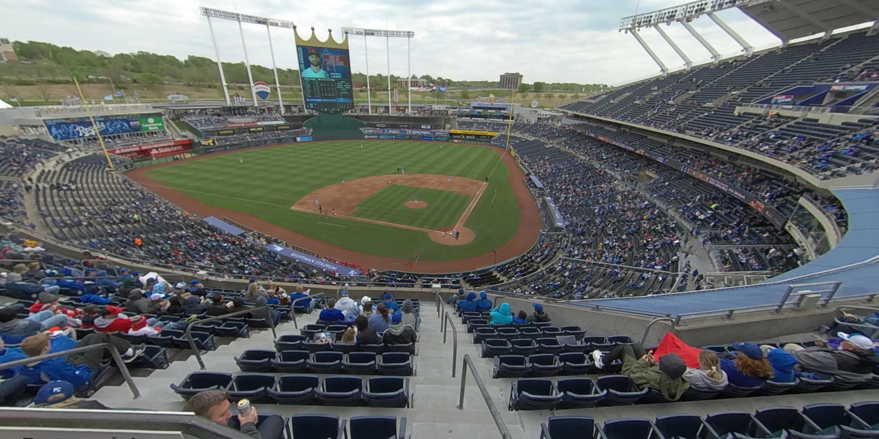Seat View for Kauffman Stadium