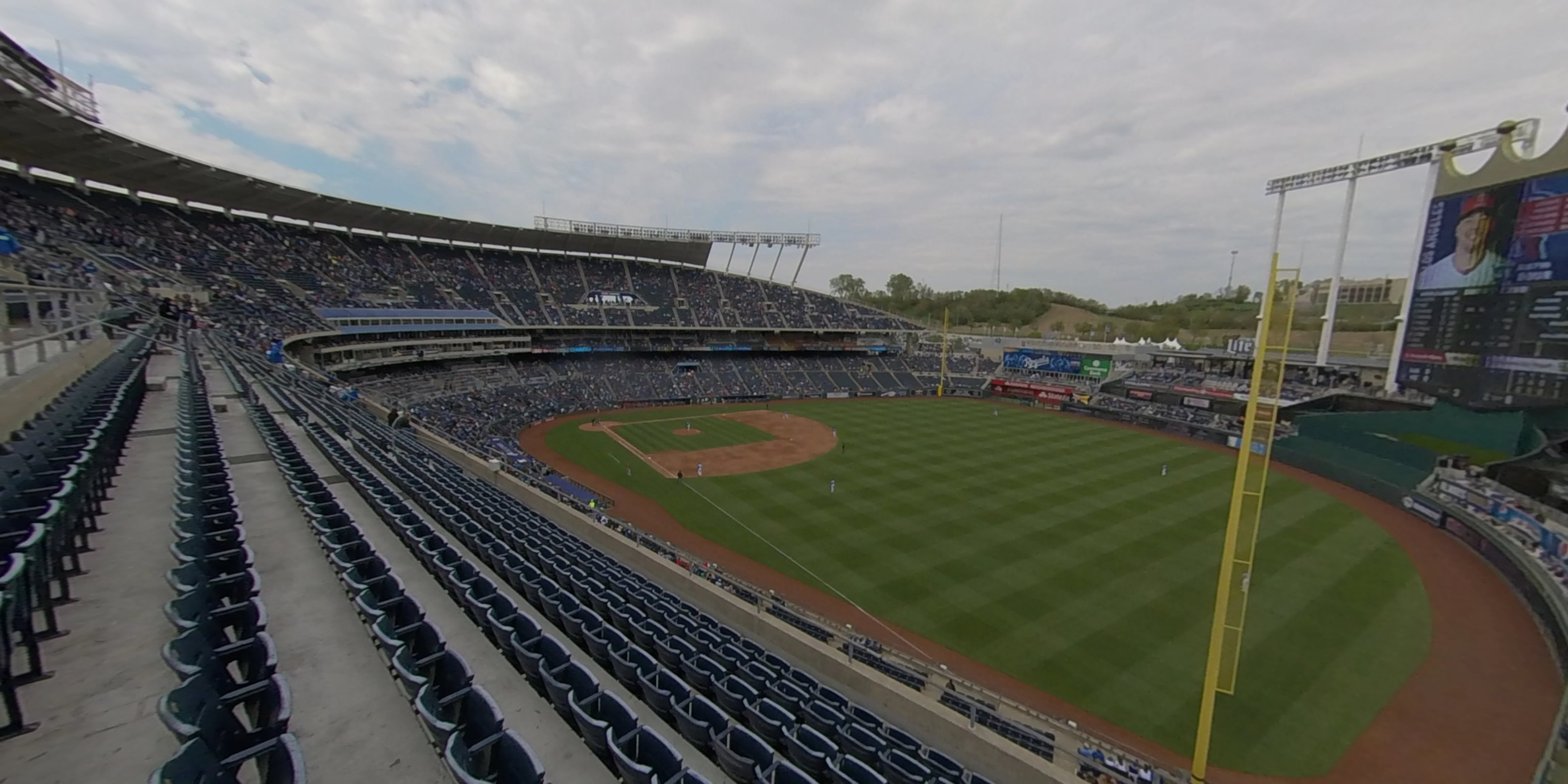 360° Photo From Kauffman Stadium Section 439