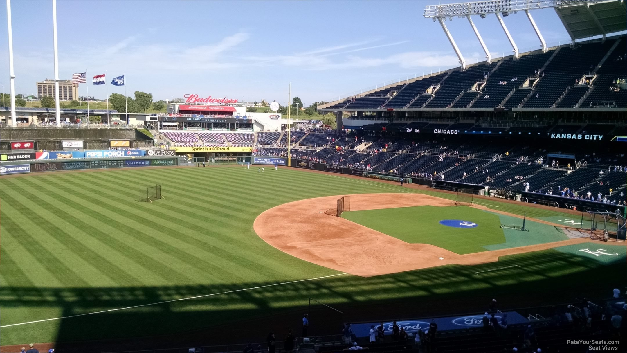 Seat View for Kauffman Stadium Craft and Draft