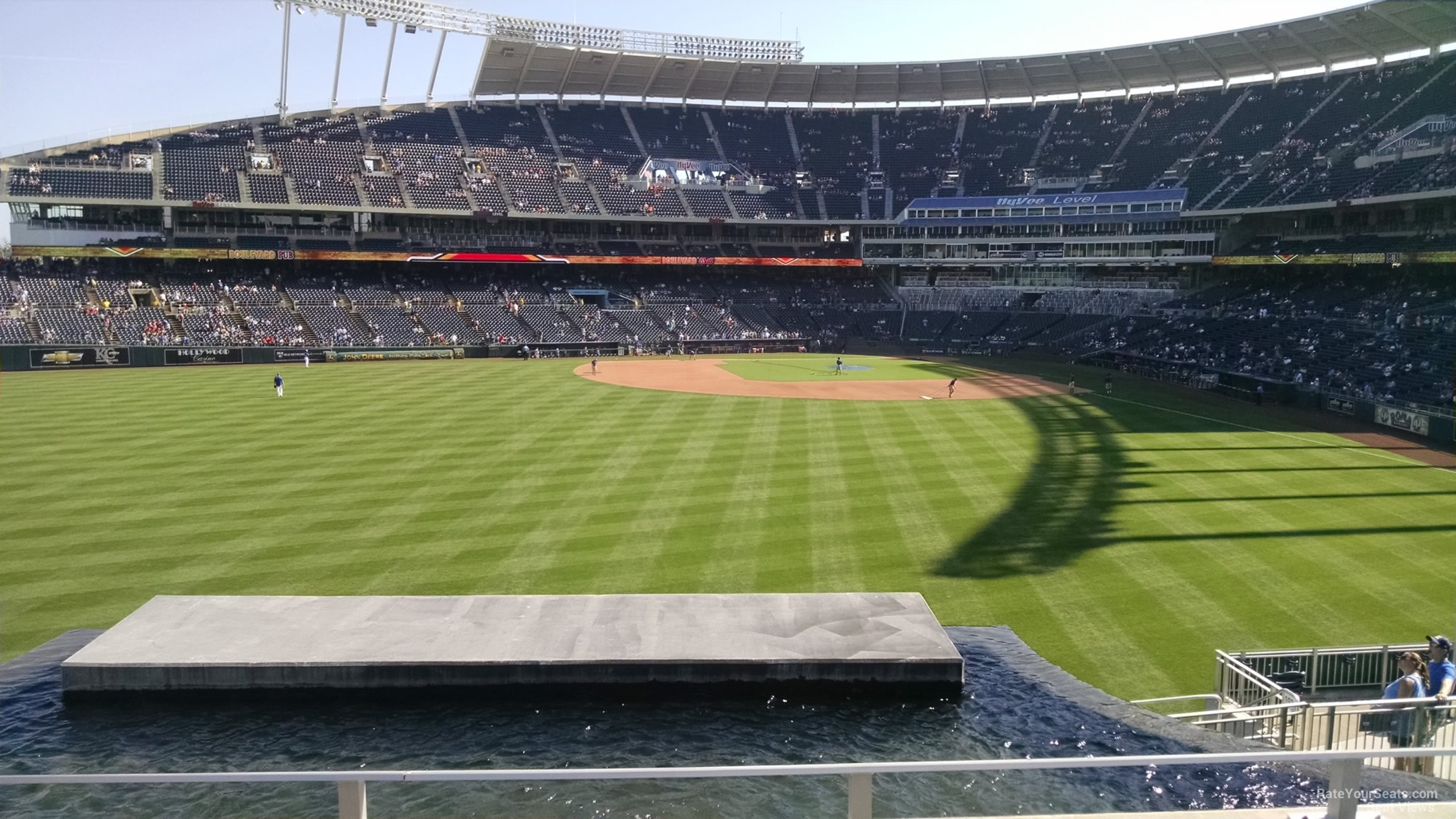 Seat View for Kauffman Stadium Section 203, Row C