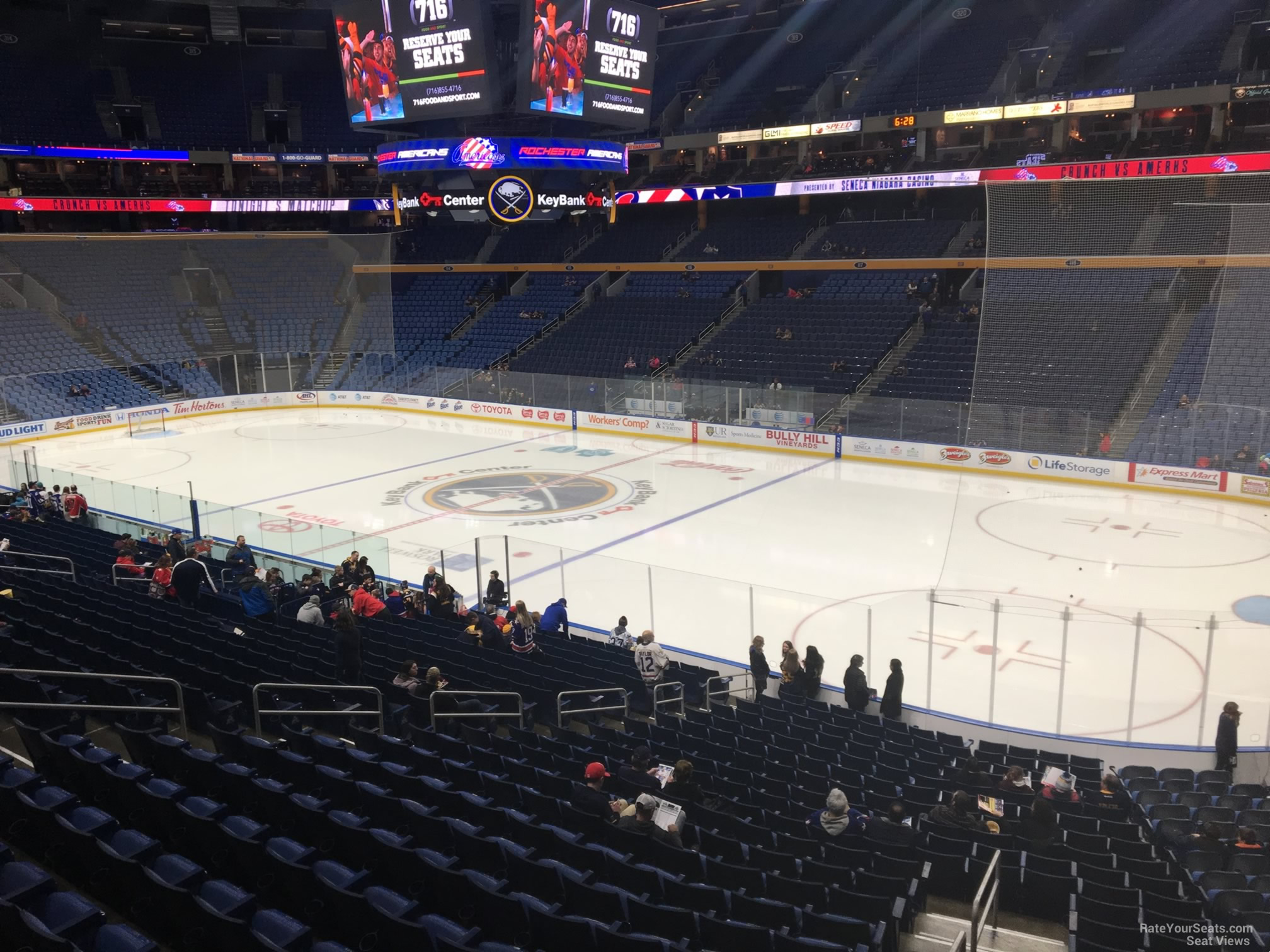 Keybank Center Section 204 Buffalo