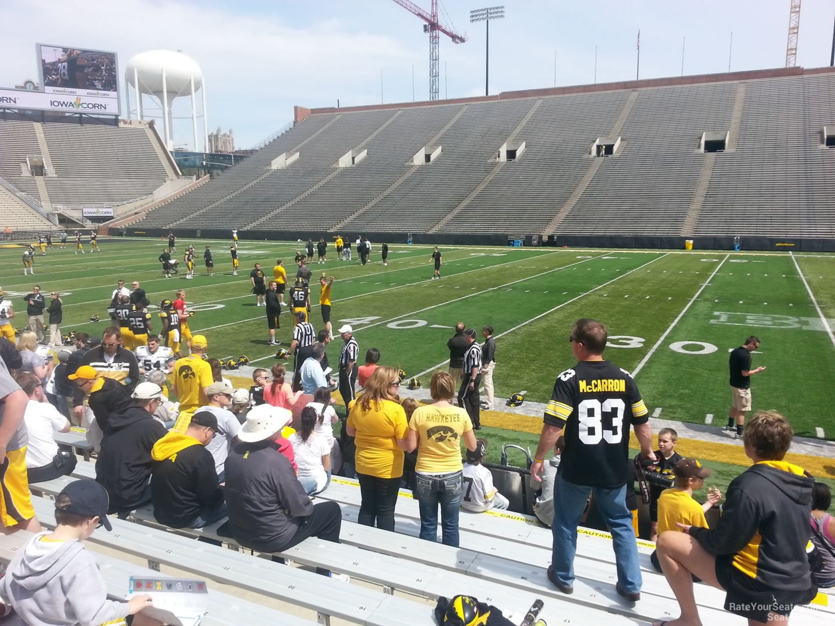 Seat View for Kinnick Stadium Section 125, Row 8