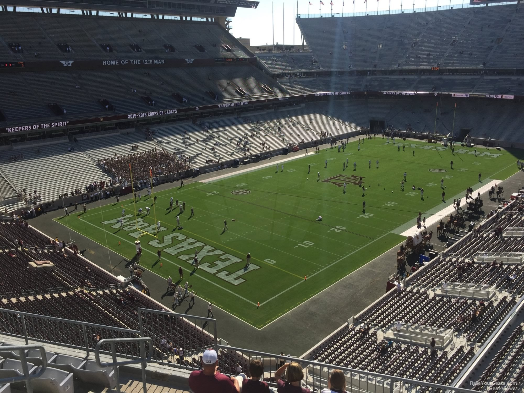 Seat View for Kyle Field Section 314, Row 6