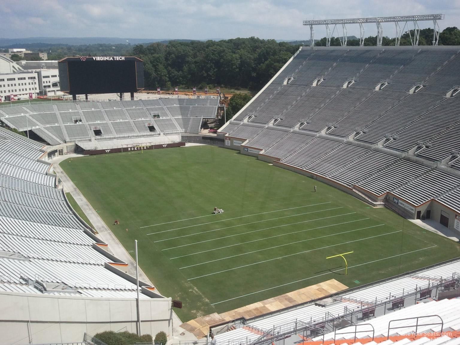 Lane Stadium Section 510 Rateyourseats Com