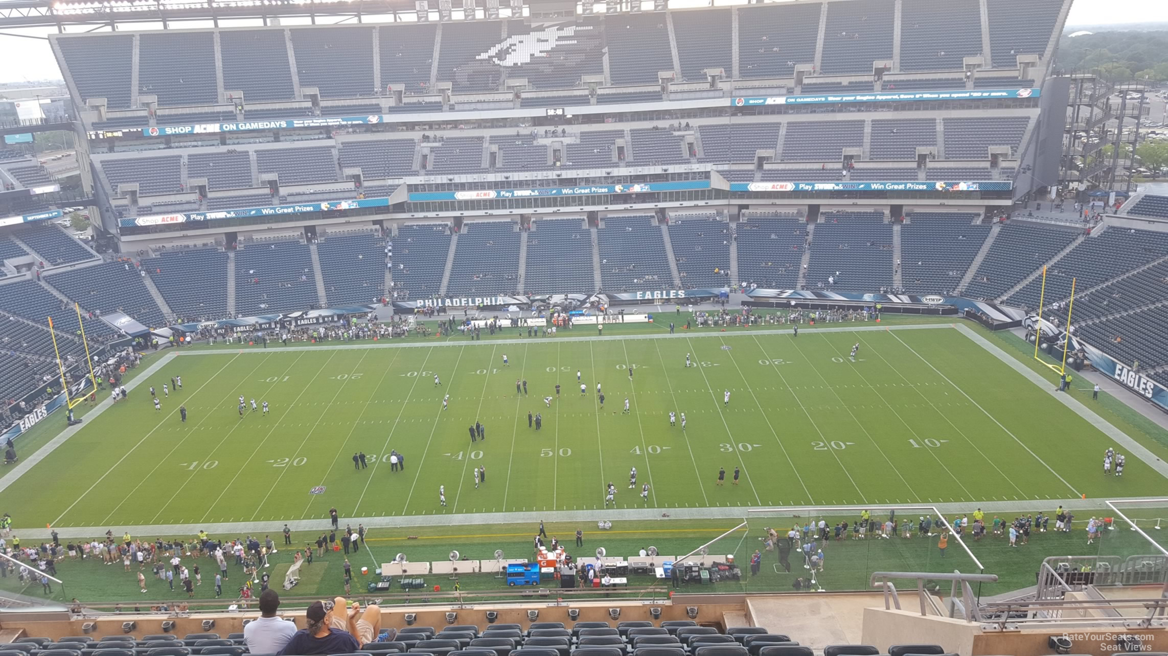 Lincoln Financial Field Section 225 Philadelphia Eagles