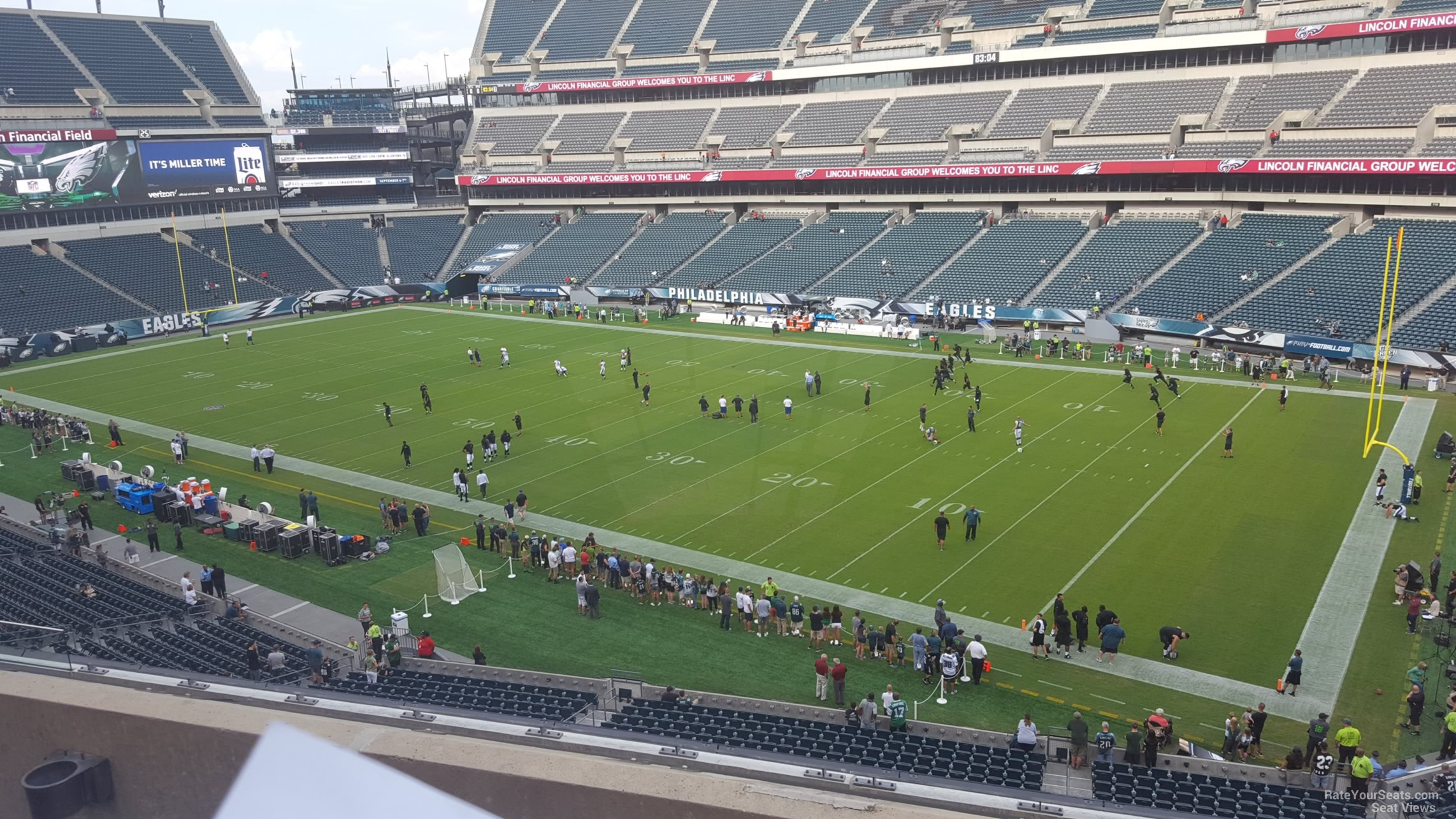 Lincoln Financial Field Section C5 Philadelphia Eagles