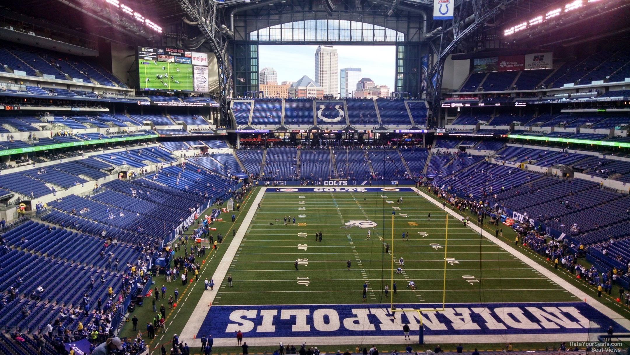 Section 427 At Lucas Oil Stadium Indianapolis Colts Rateyourseats Com