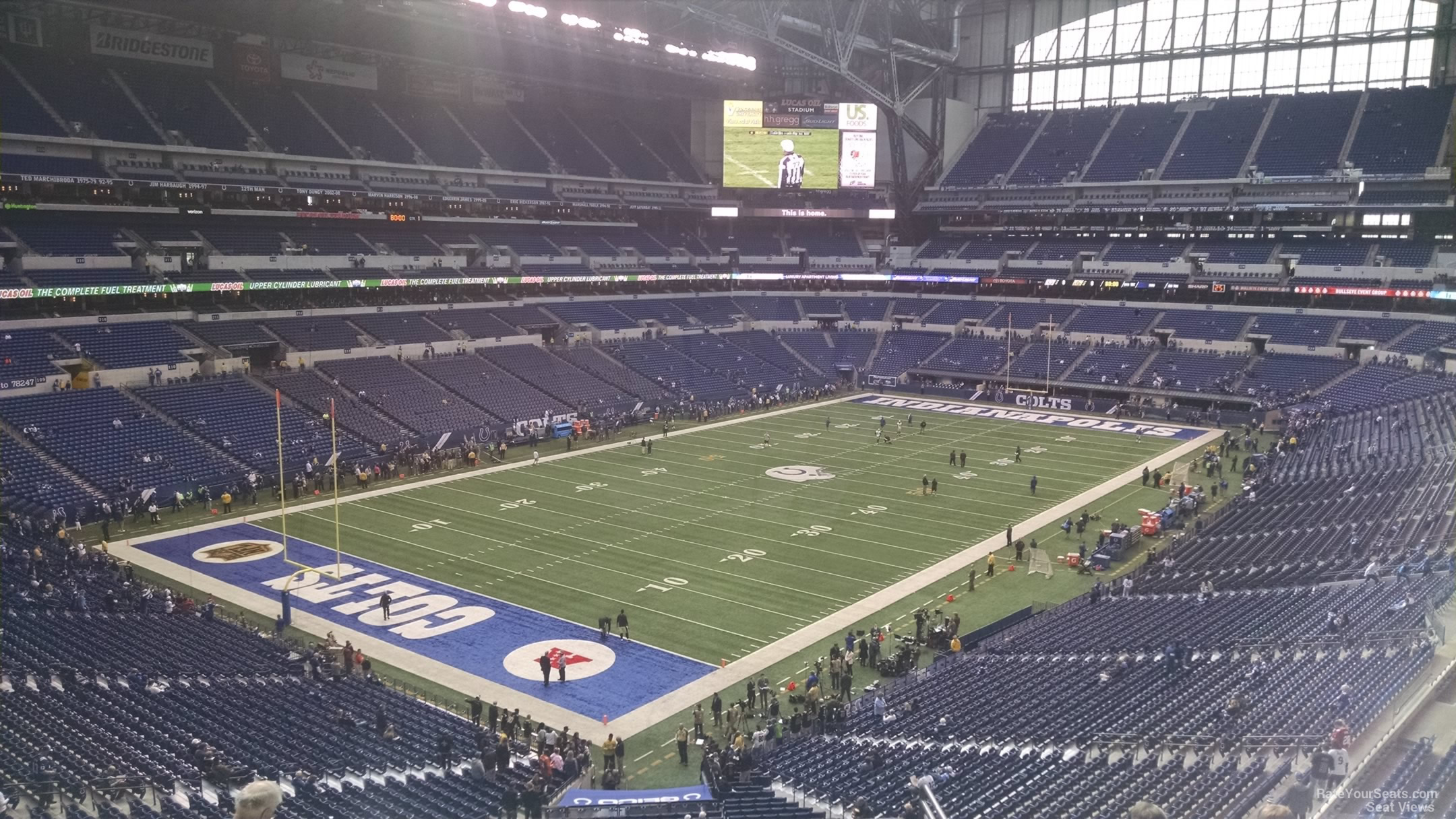 Lucas Oil Stadium Section 449 Indianapolis Colts