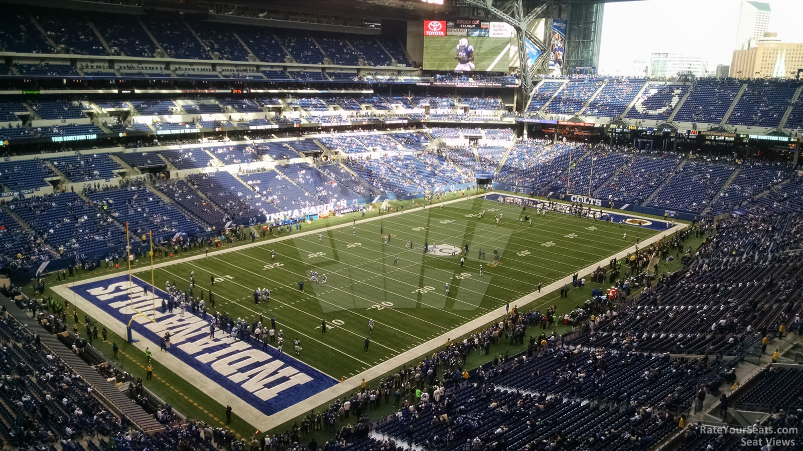 Section 520 At Lucas Oil Stadium Indianapolis Colts Rateyourseats Com